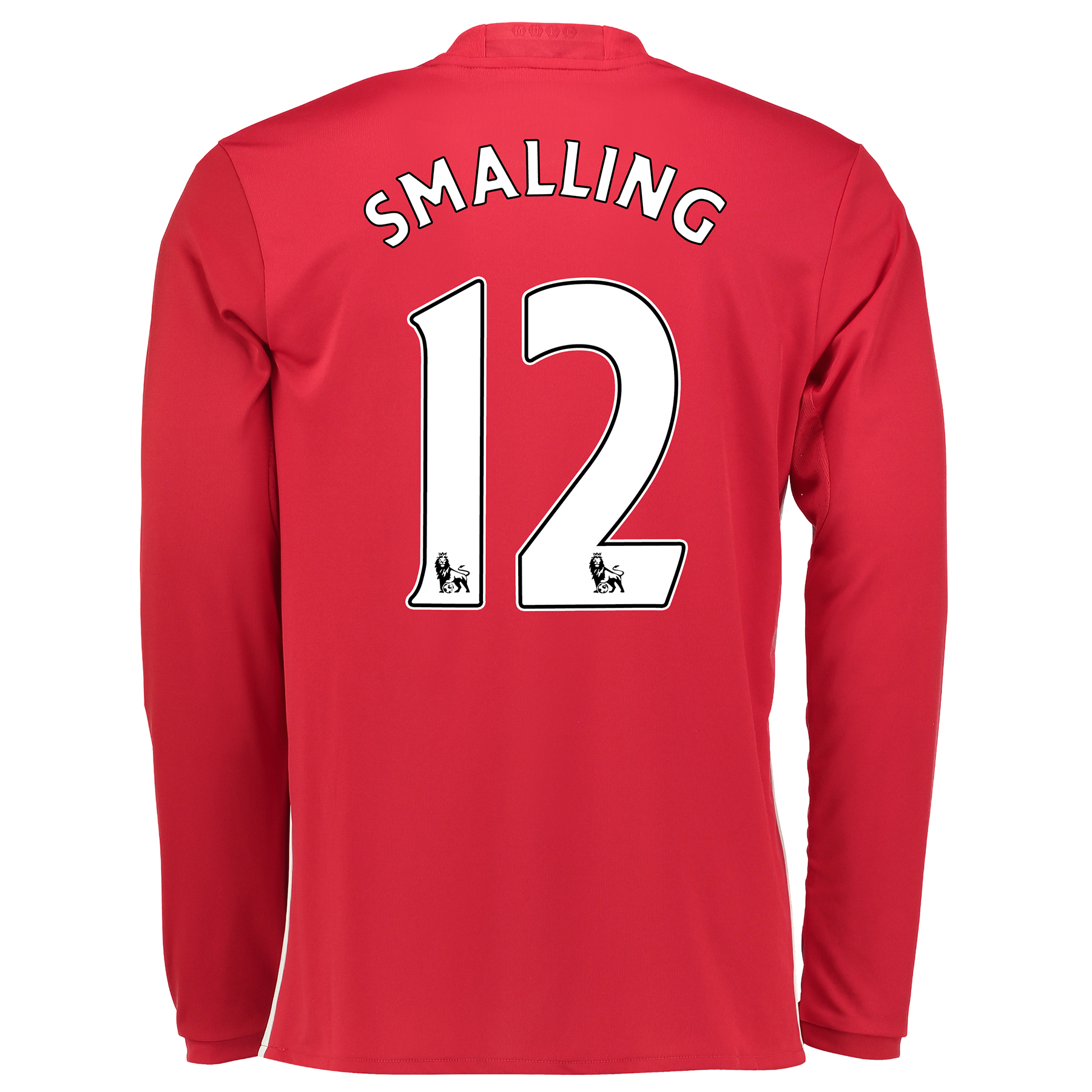Manchester United Home Shirt 2016-17 - Long Sleeve with Smalling 12 pr