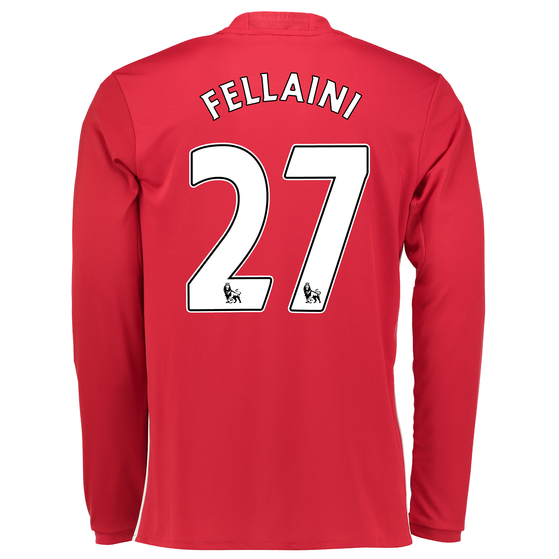 Manchester United Home Shirt 2016-17 - Long Sleeve with Fellaini 27 pr