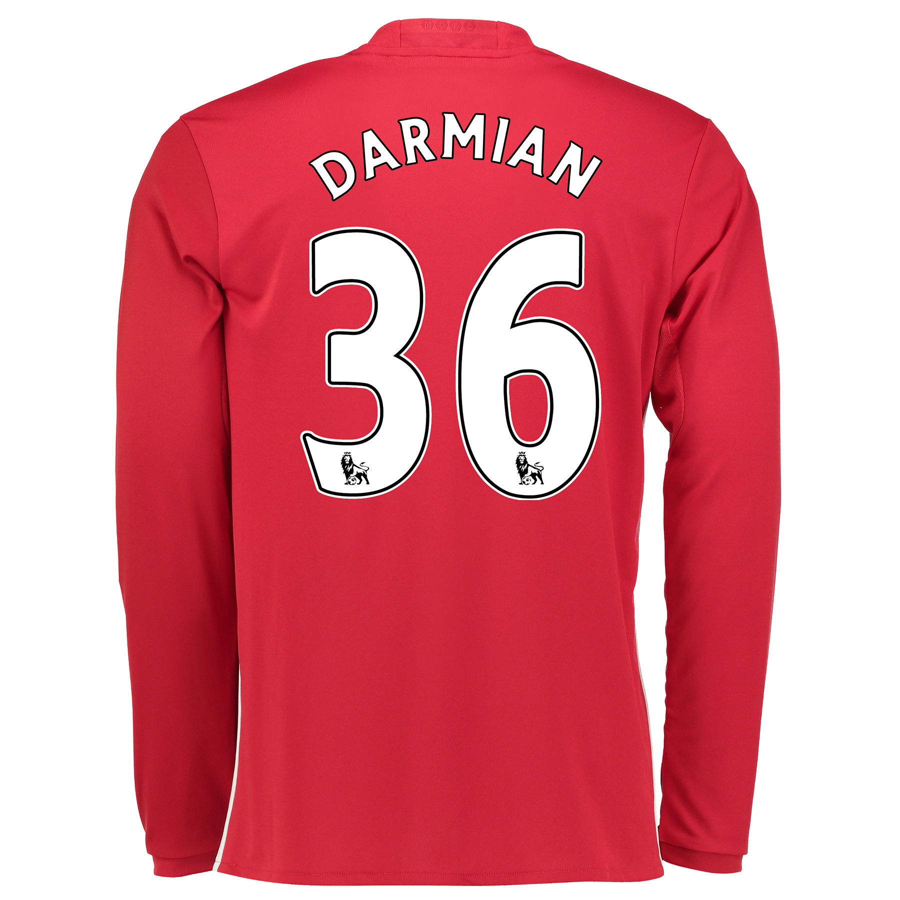 Manchester United Home Shirt 2016-17 - Long Sleeve with Darmian 36 pri