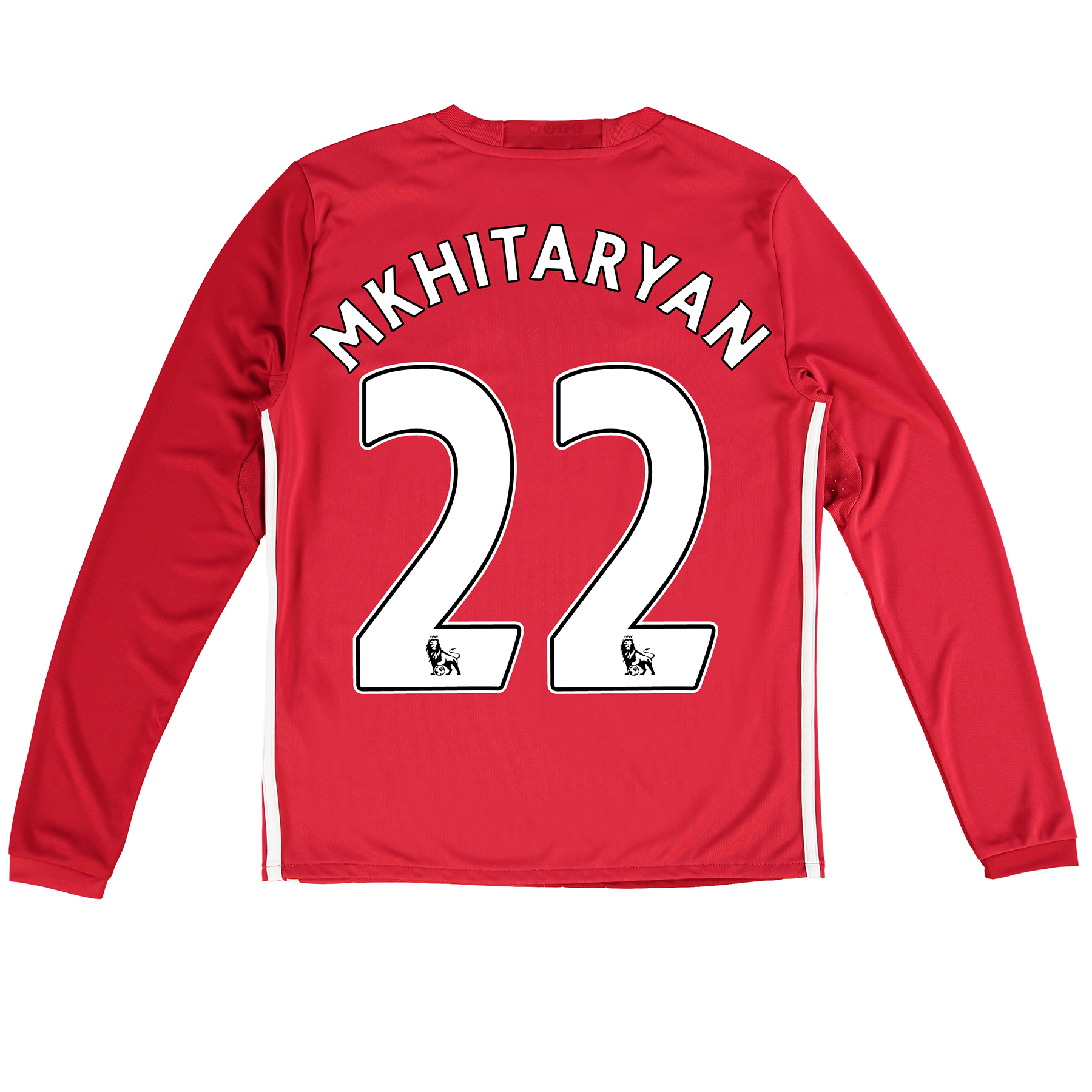 Manchester United Home Shirt 2016-17 - Kids - Long Sleeve with Mkhitar
