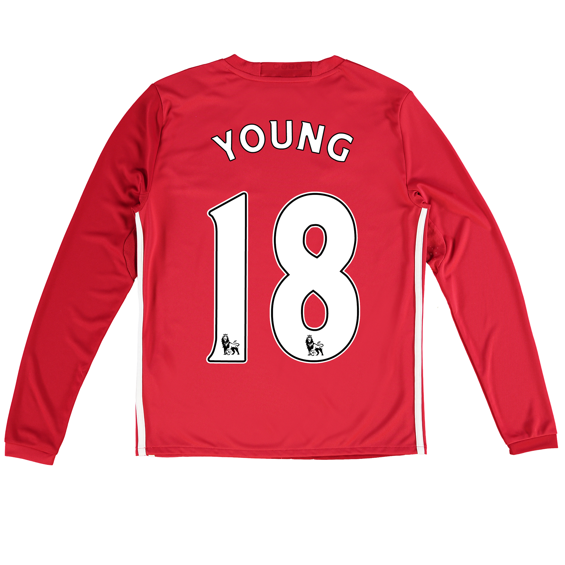 Manchester United Home Shirt 2016-17 - Kids - Long Sleeve with Young 1