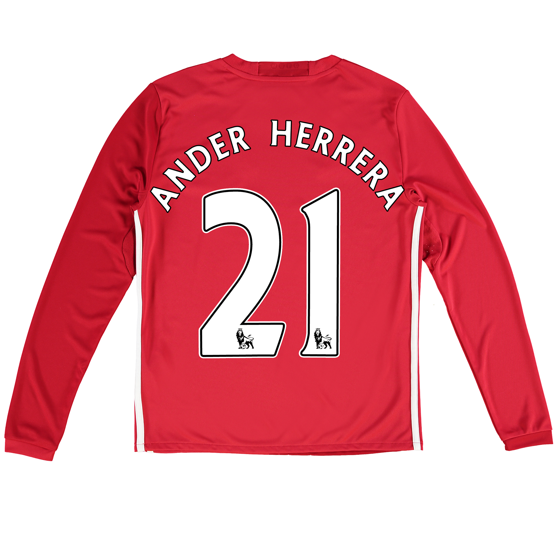 Manchester United Home Shirt 2016-17 - Kids - Long Sleeve with Herrera