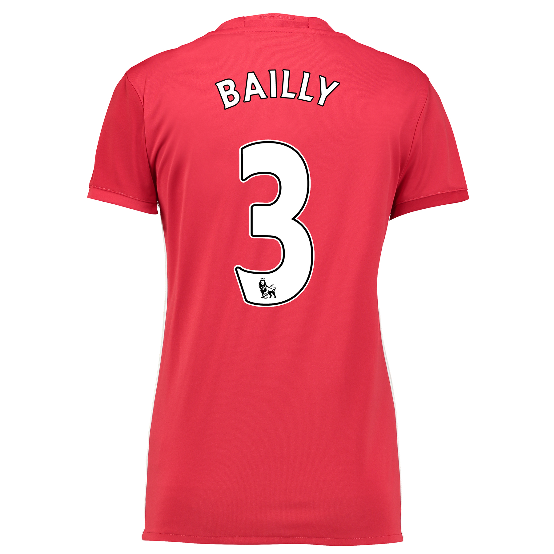 Manchester United Home Shirt 2016-17 - Womens with Bailly 3 printing