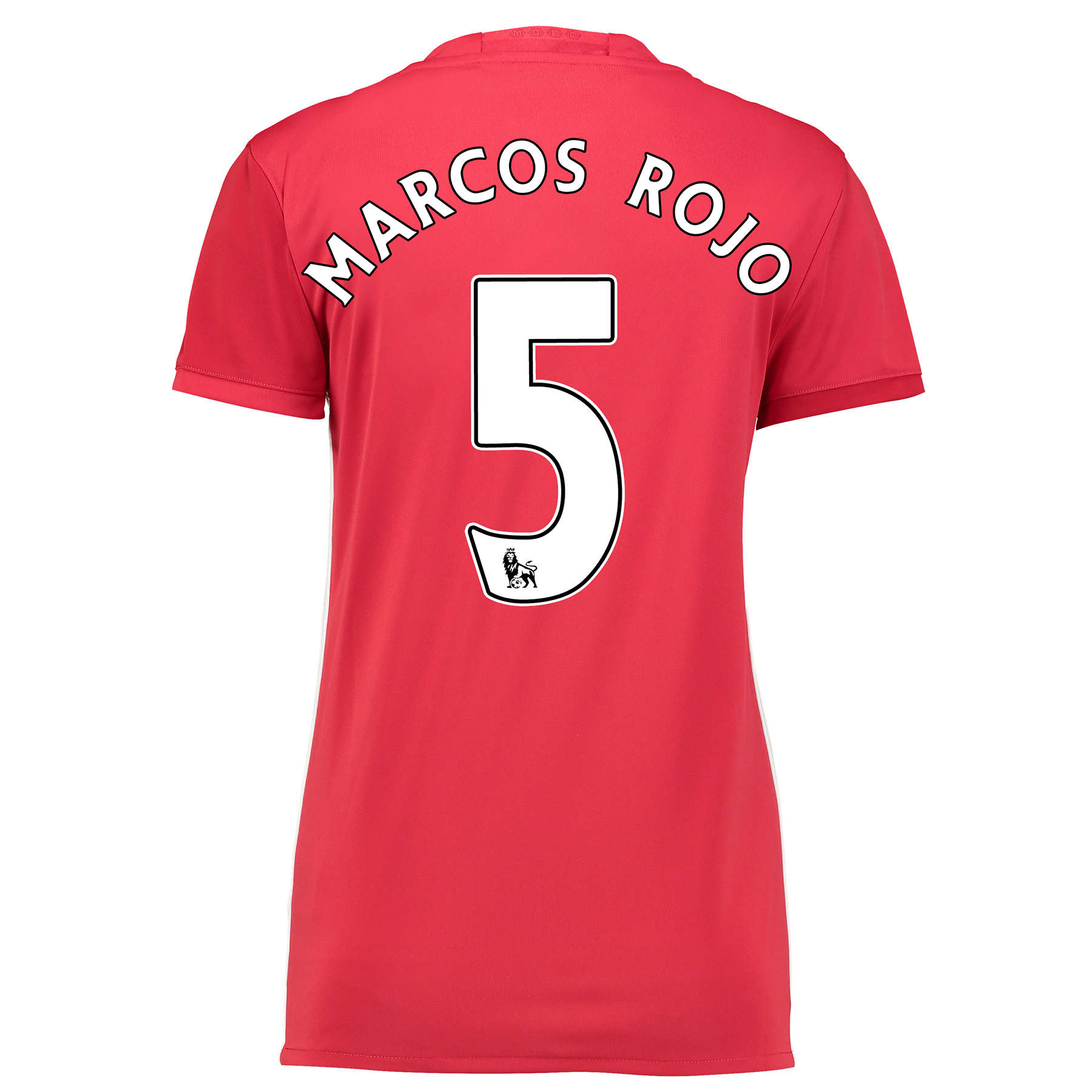 Manchester United Home Shirt 2016-17 - Womens with Marcos Rojo 5 print