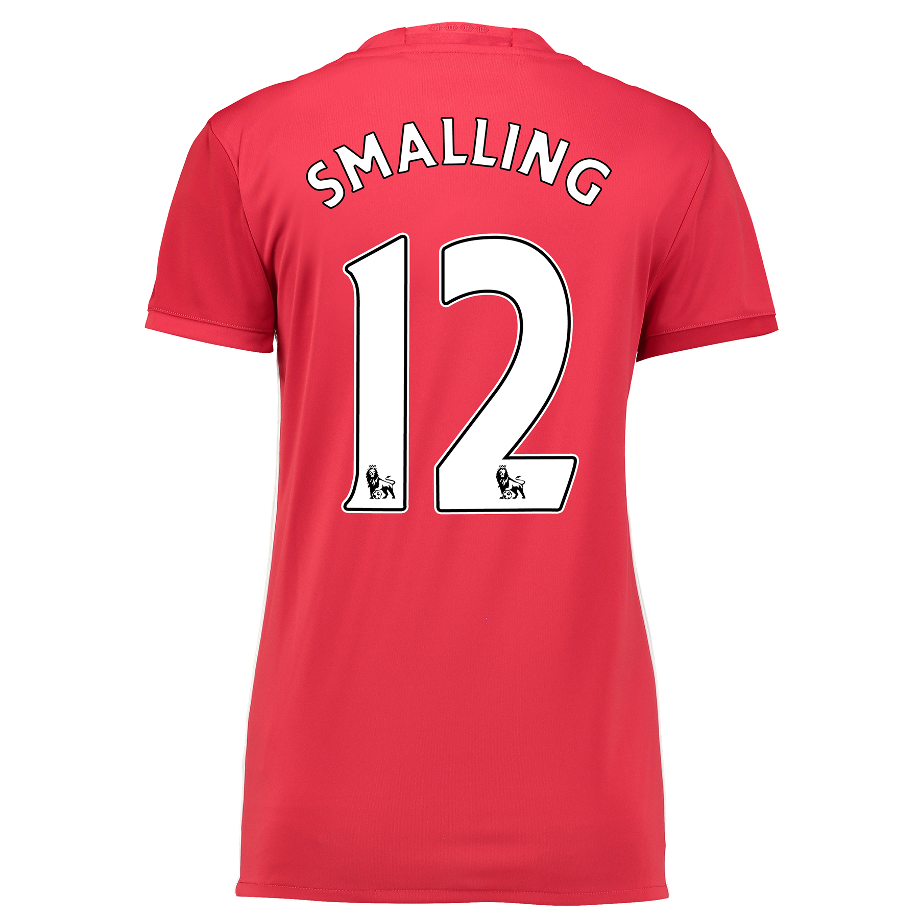 Manchester United Home Shirt 2016-17 - Womens with Smalling 12 printin