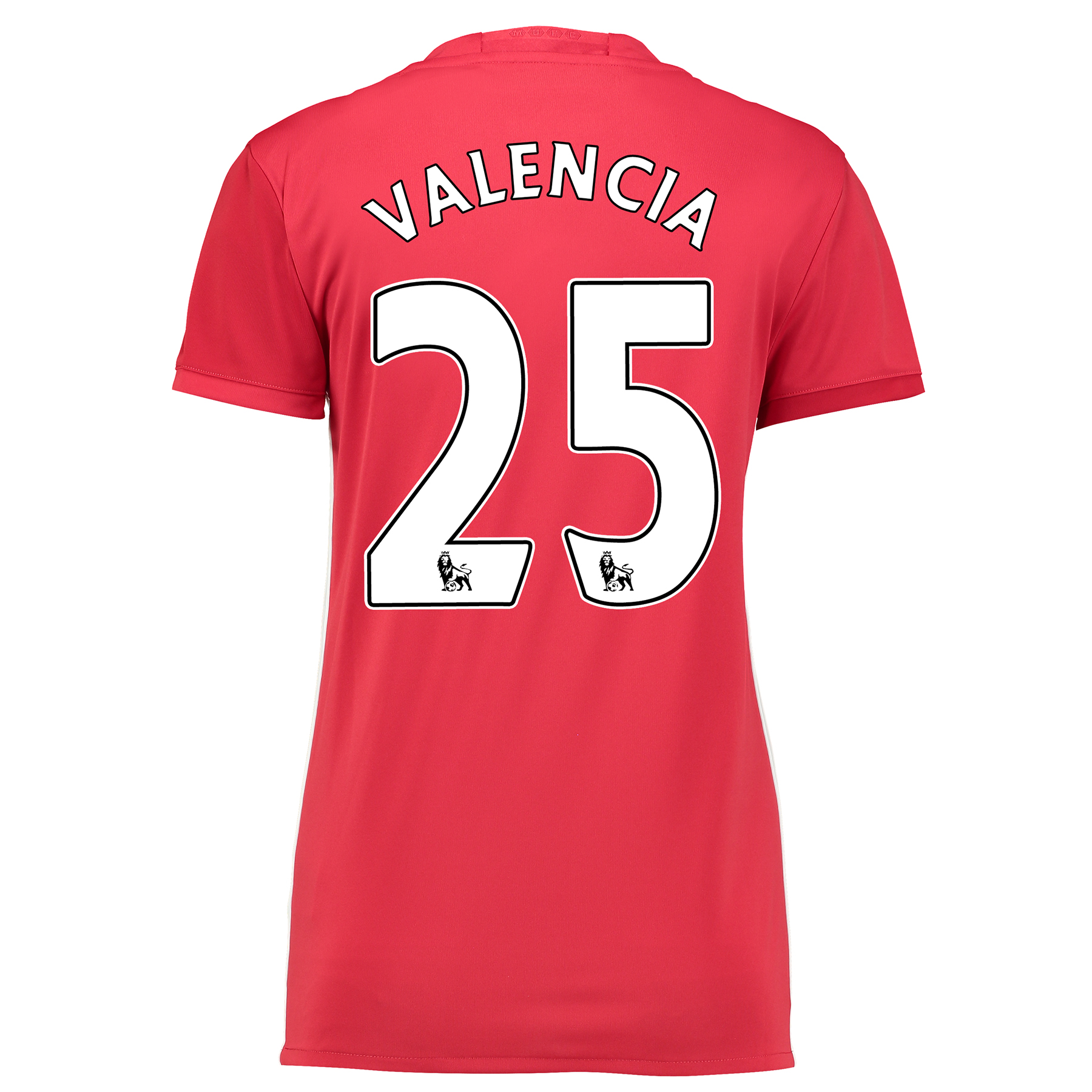 Manchester United Home Shirt 2016-17 - Womens with Valencia 25 printin