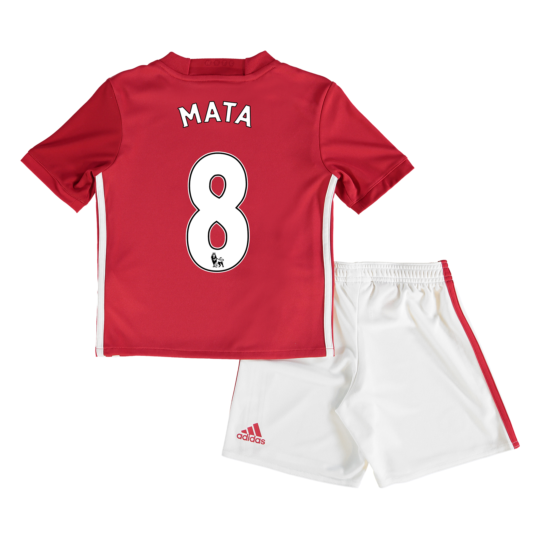 Manchester United Home Mini Kit 2016-17 with Mata 8 printing