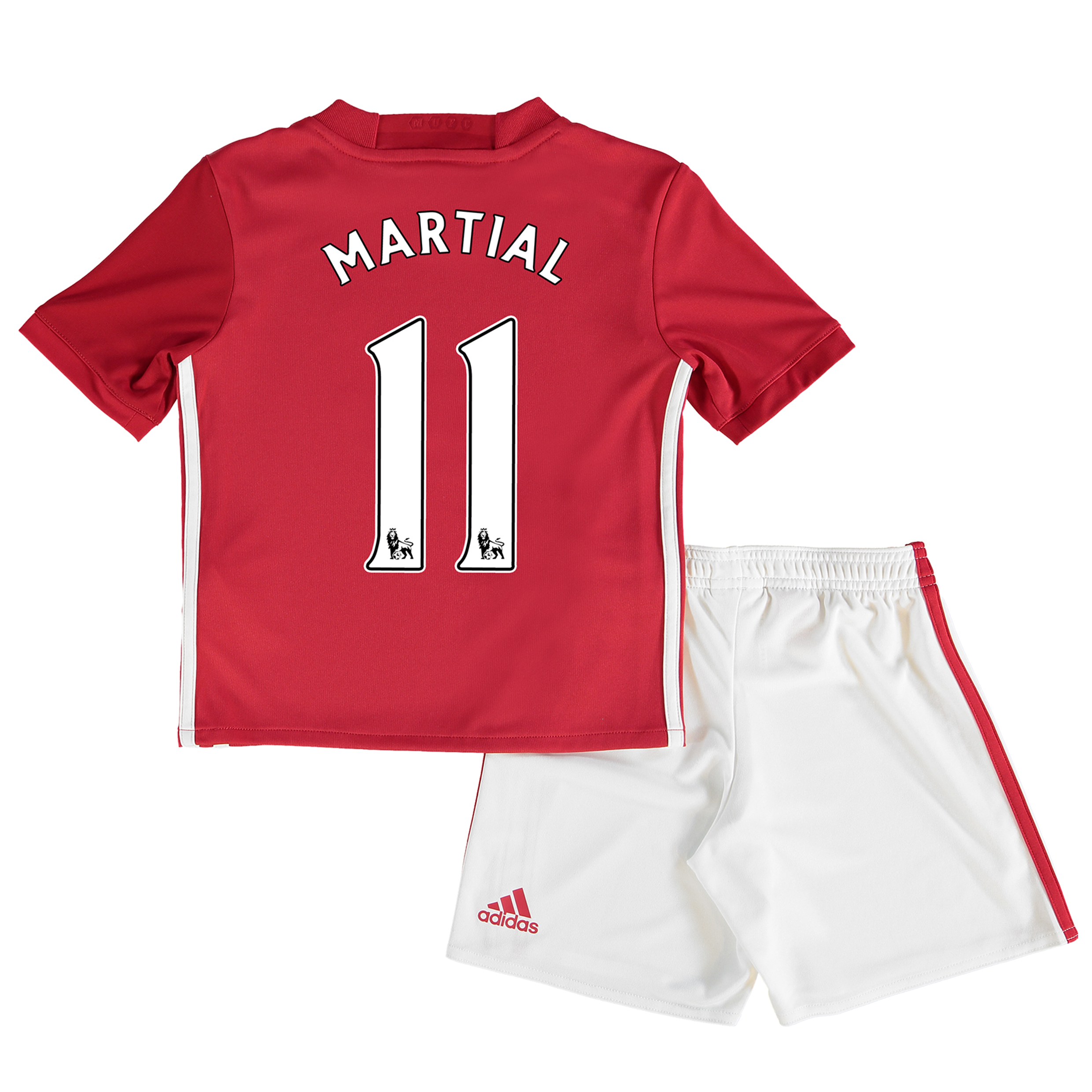 Manchester United Home Mini Kit 2016-17 with Martial 11 printing