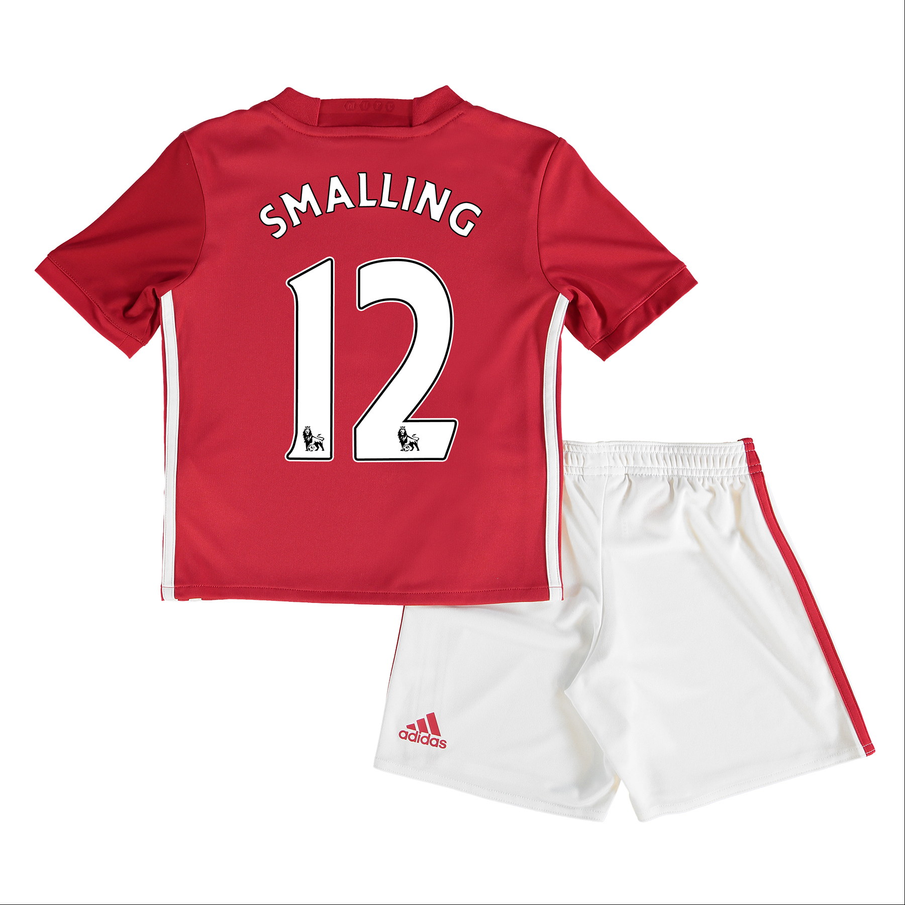 Manchester United Home Mini Kit 2016-17 with Smalling 12 printing