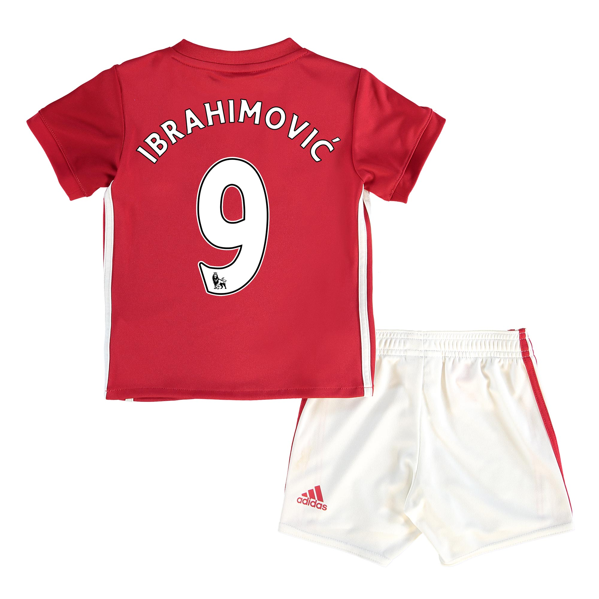 Manchester United Home Baby Kit 2016-17 with Ibrahimovic 9 printing