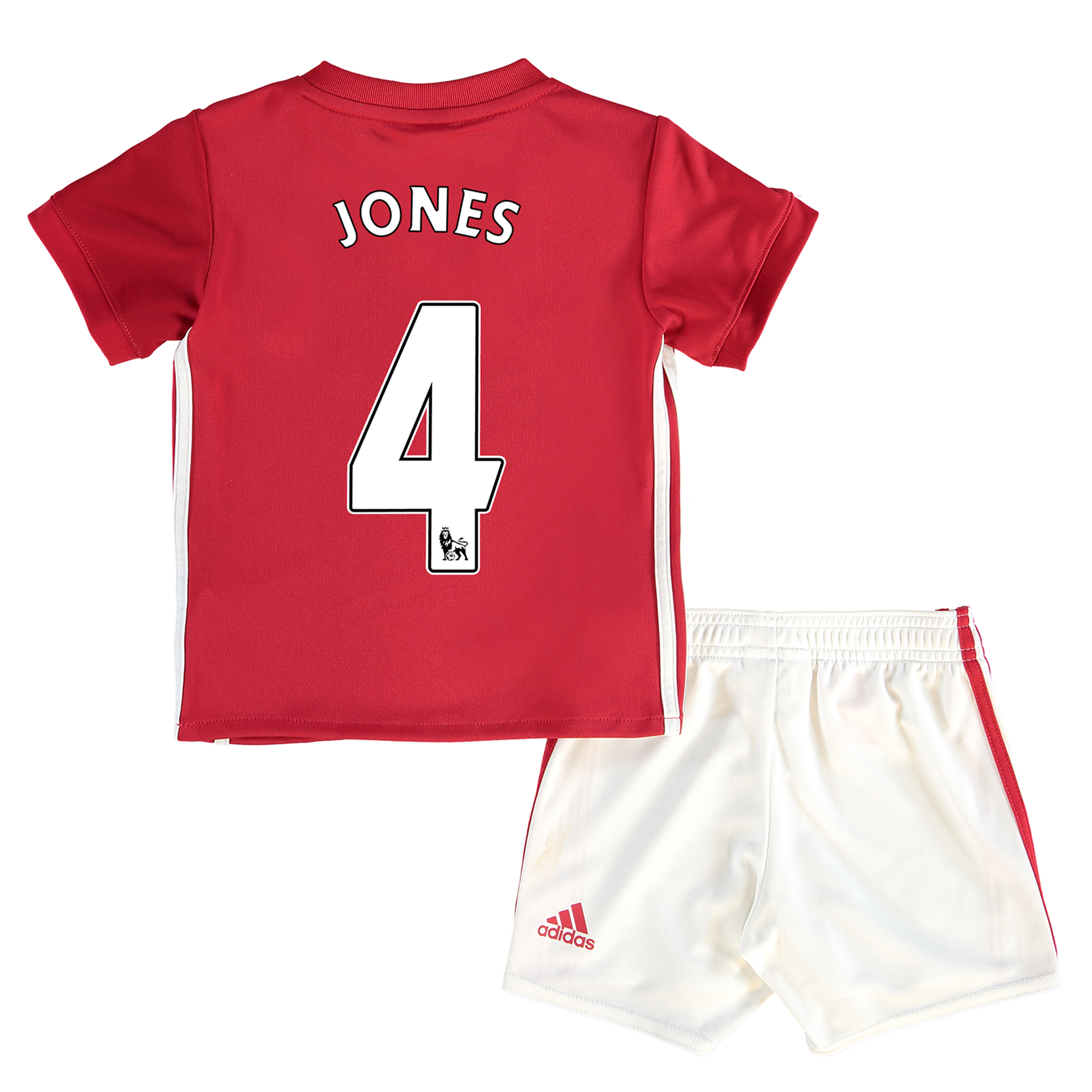Manchester United Home Baby Kit 2016-17 with Jones 4 printing