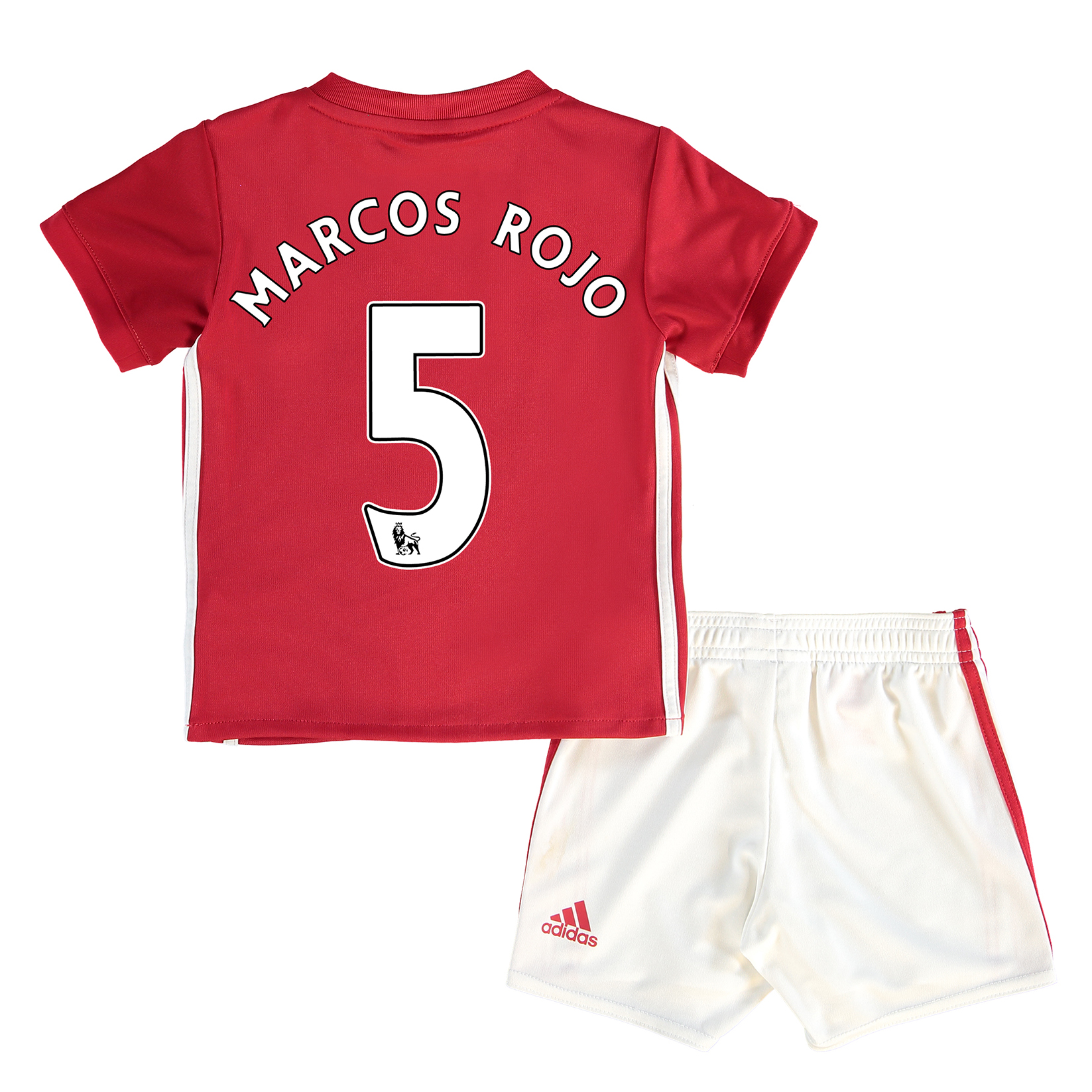 Manchester United Home Baby Kit 2016-17 with Marcos Rojo 5 printing
