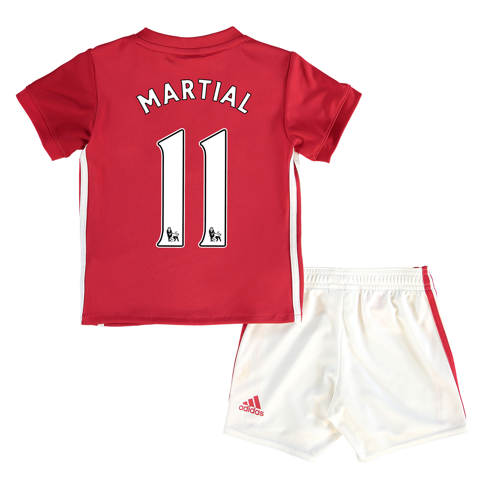 Manchester United Home Baby Kit 2016-17 with Martial 11 printing