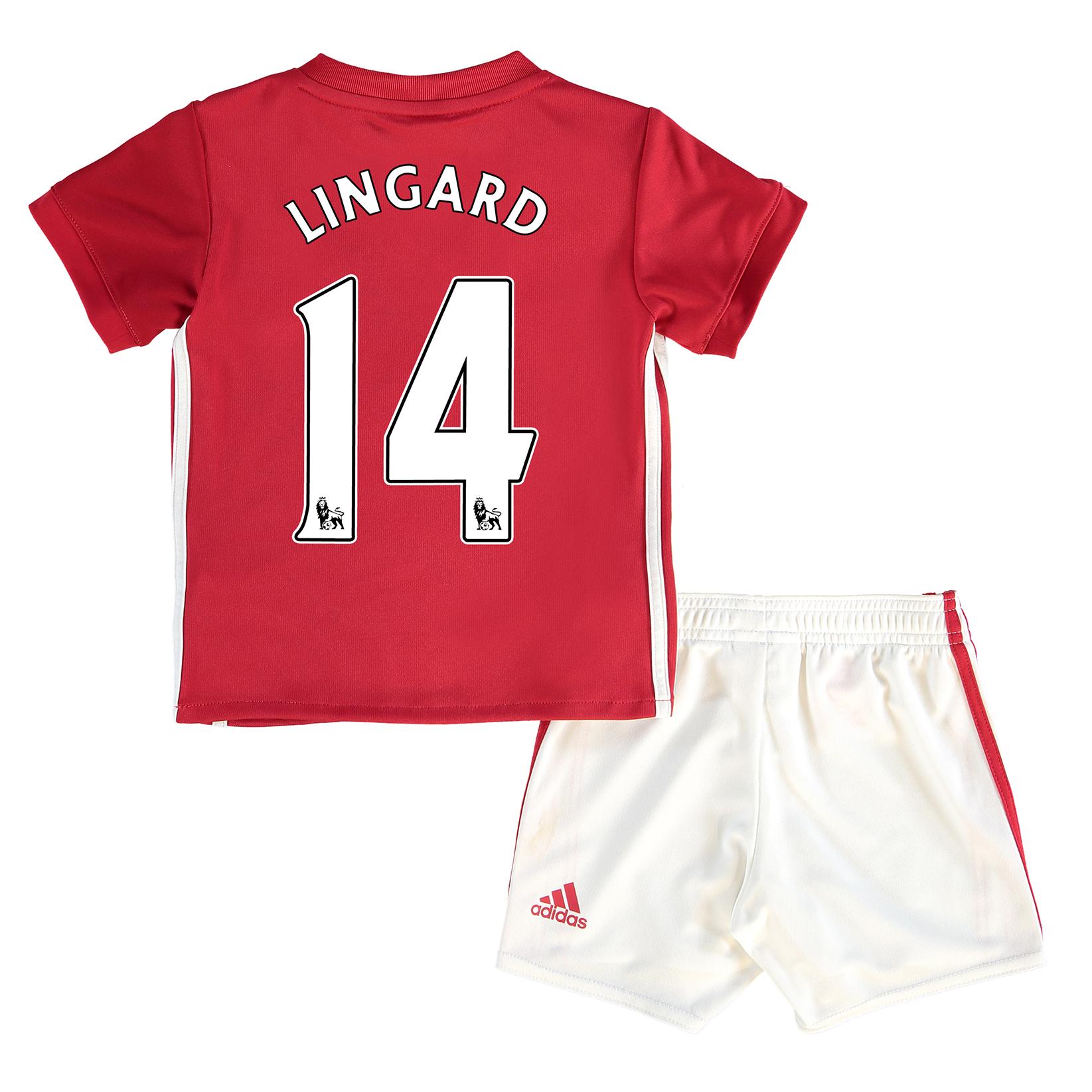 Baby kit Manchester United Domicile 2016-17 - Lingard 14