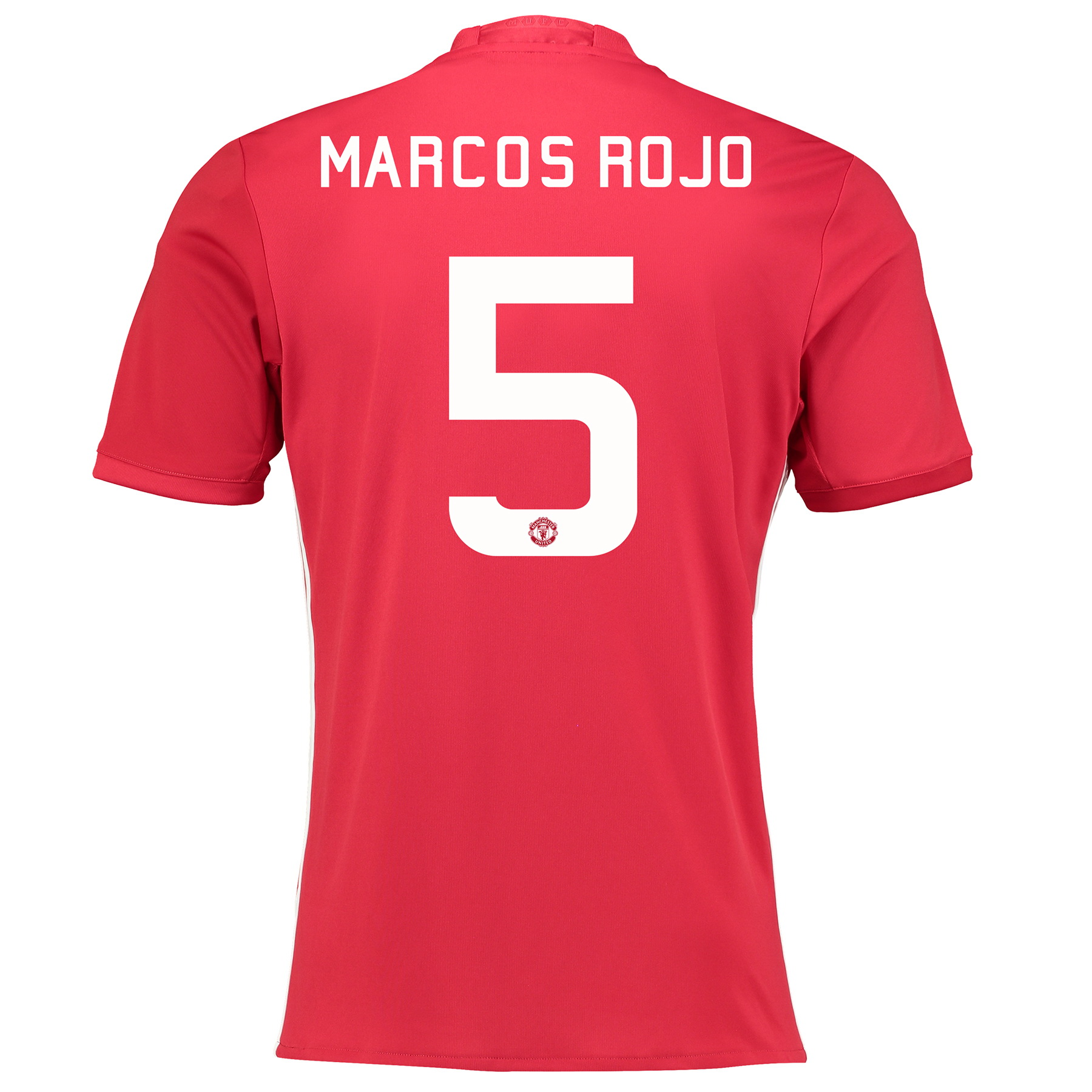Manchester United Cup Home Shirt 2016-17 with Marcos Rojo 5 printing