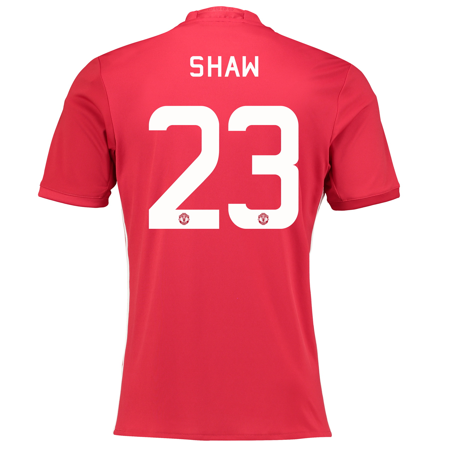 Manchester United Cup Home Shirt 2016-17 with Shaw 23 printing