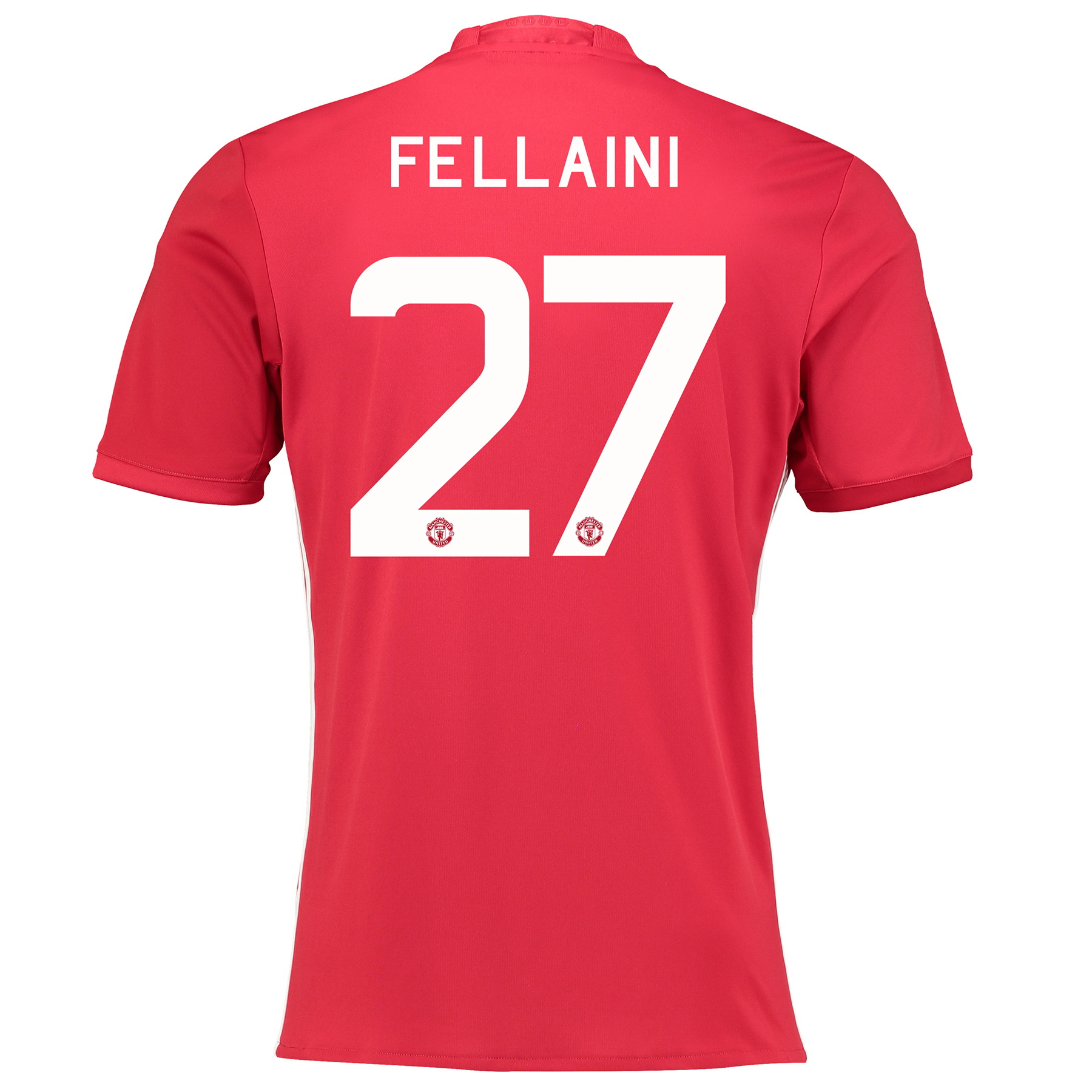 Manchester United Cup Home Shirt 2016-17 with Fellaini 27 printing