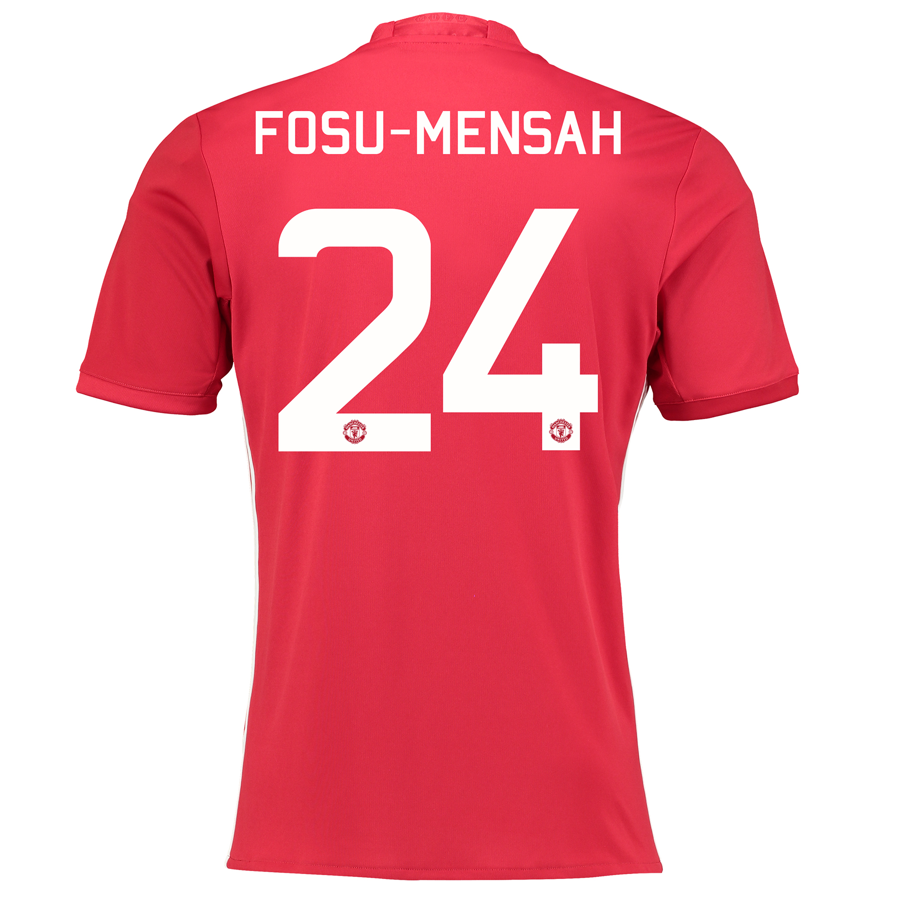 Manchester United Cup Home Shirt 2016-17 with Fosu-Mensah 24 printing