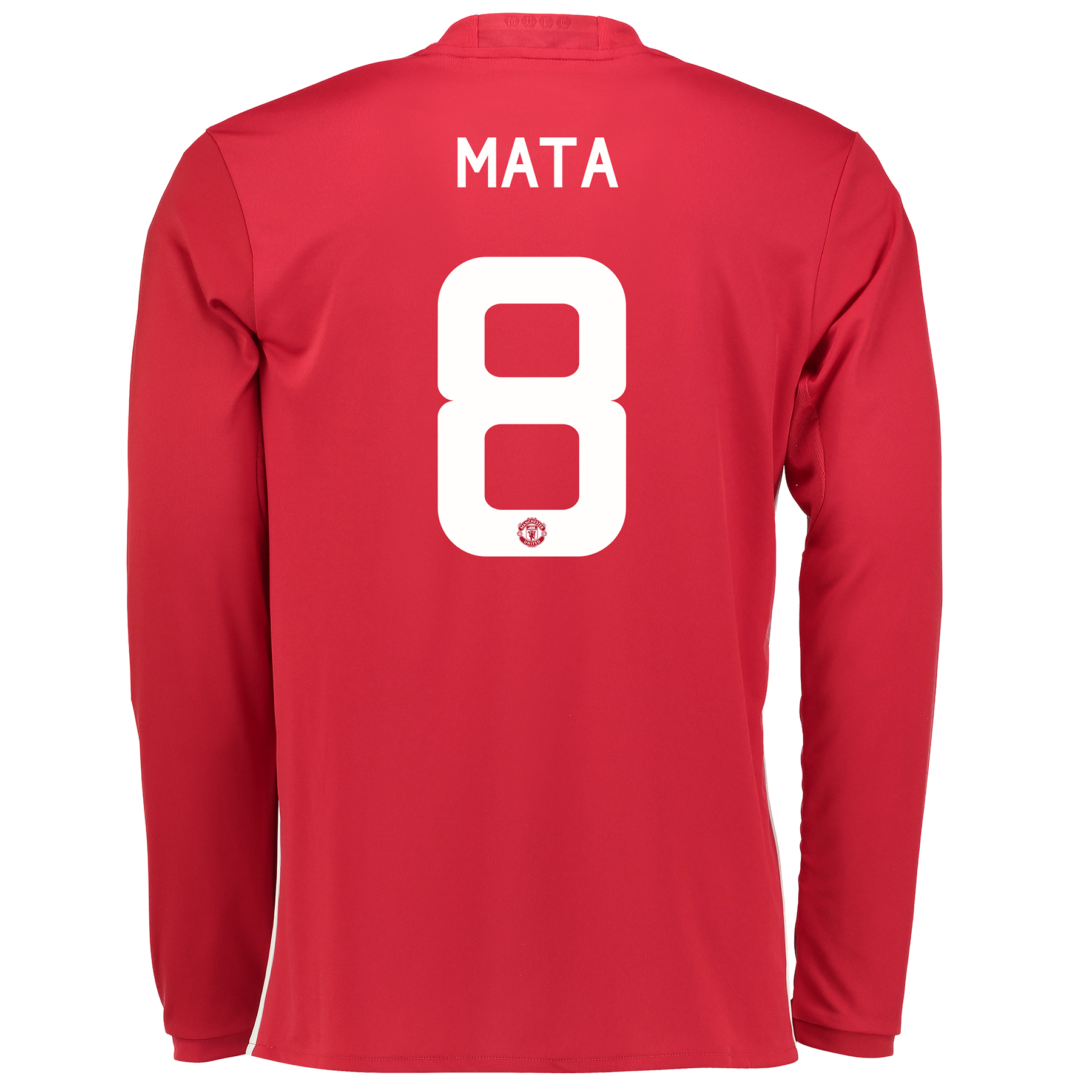 Manchester United Cup Home Shirt 2016-17 - Long Sleeve with Mata 8 pri