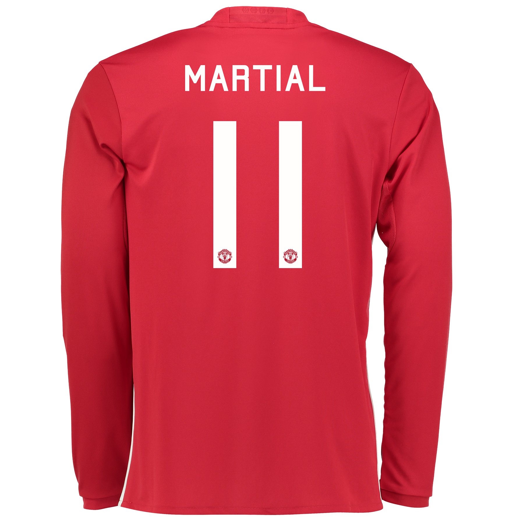 Manchester United Cup Home Shirt 2016-17 - Long Sleeve with Martial 11