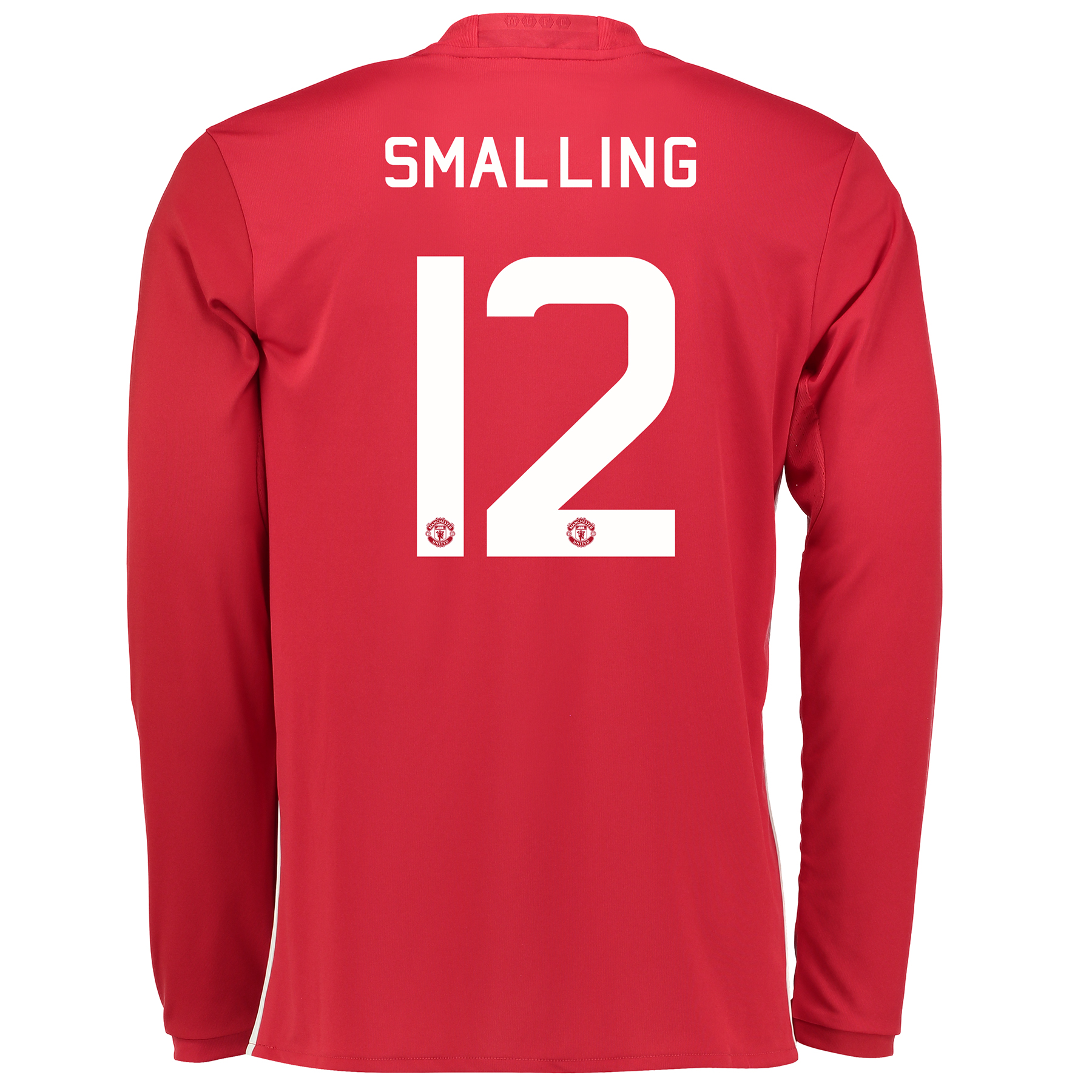 Manchester United Cup Home Shirt 2016-17 - Long Sleeve with Smalling 1
