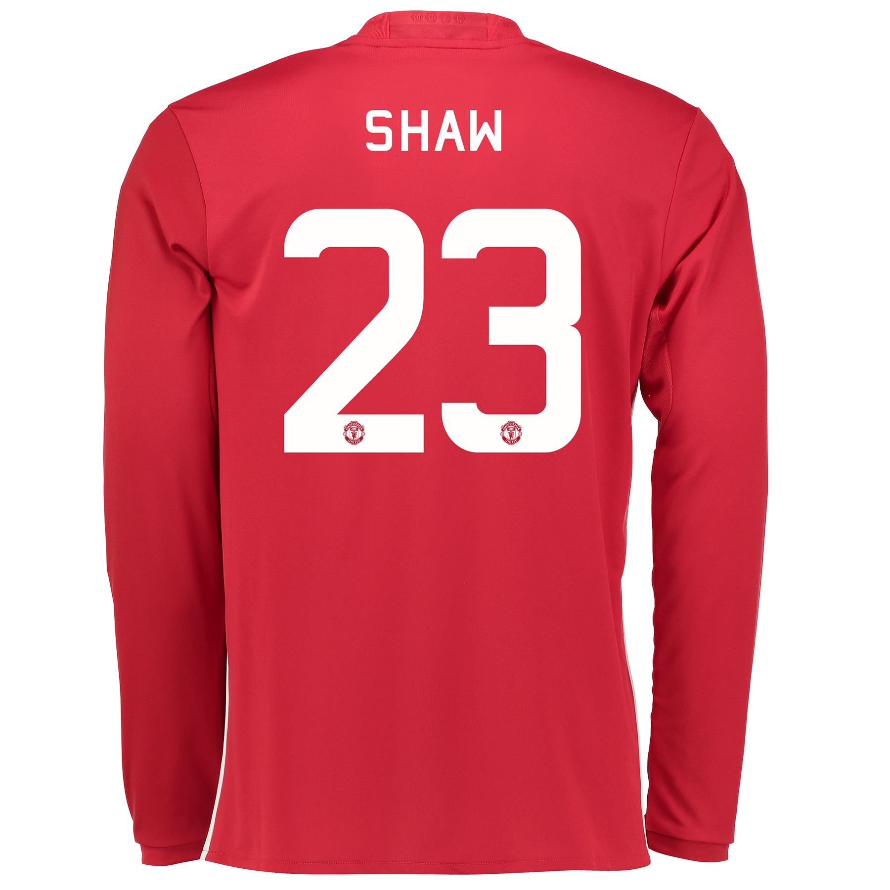 Manchester United Cup Home Shirt 2016-17 - Long Sleeve with Shaw 23 pr