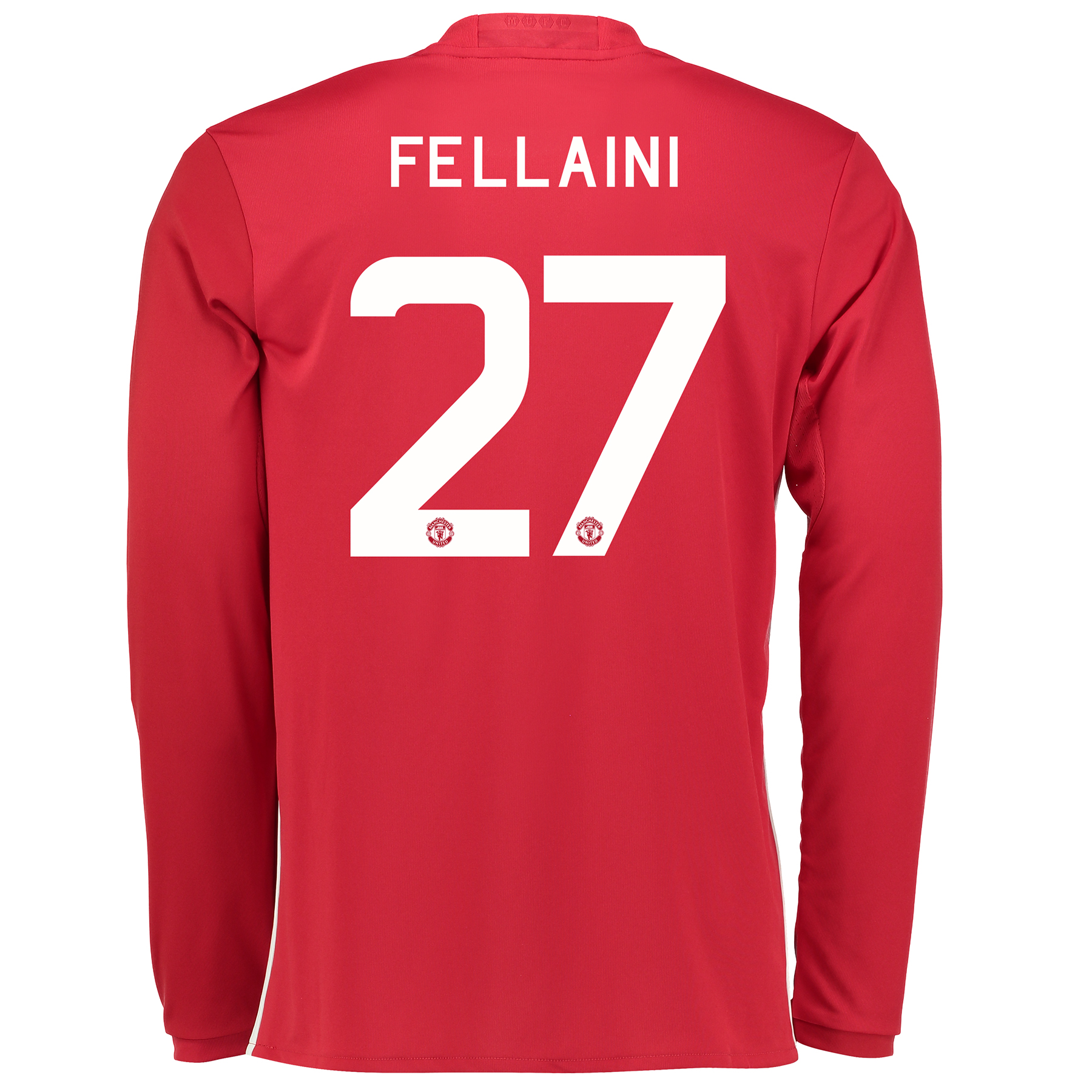 Manchester United Cup Home Shirt 2016-17 - Long Sleeve with Fellaini 2
