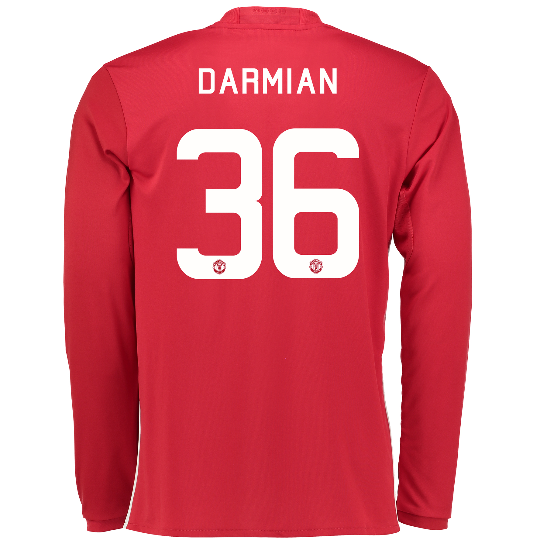 Manchester United Cup Home Shirt 2016-17 - Long Sleeve with Darmian 36