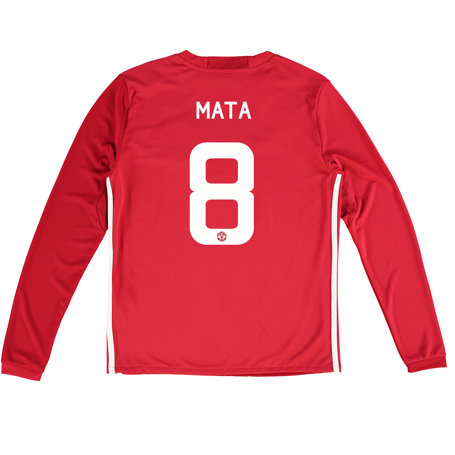Manchester United Cup Home Shirt 2016-17 - Kids - Long Sleeve with Mat