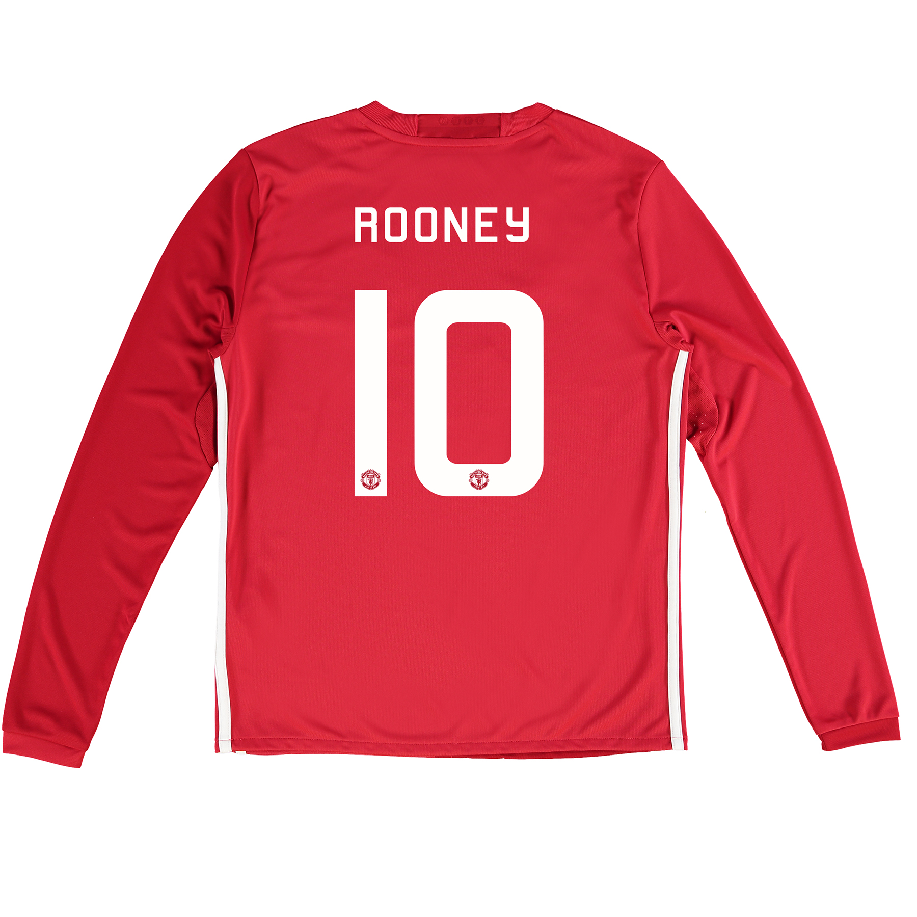 Manchester United Cup Home Shirt 2016-17 - Kids - Long Sleeve with Roo