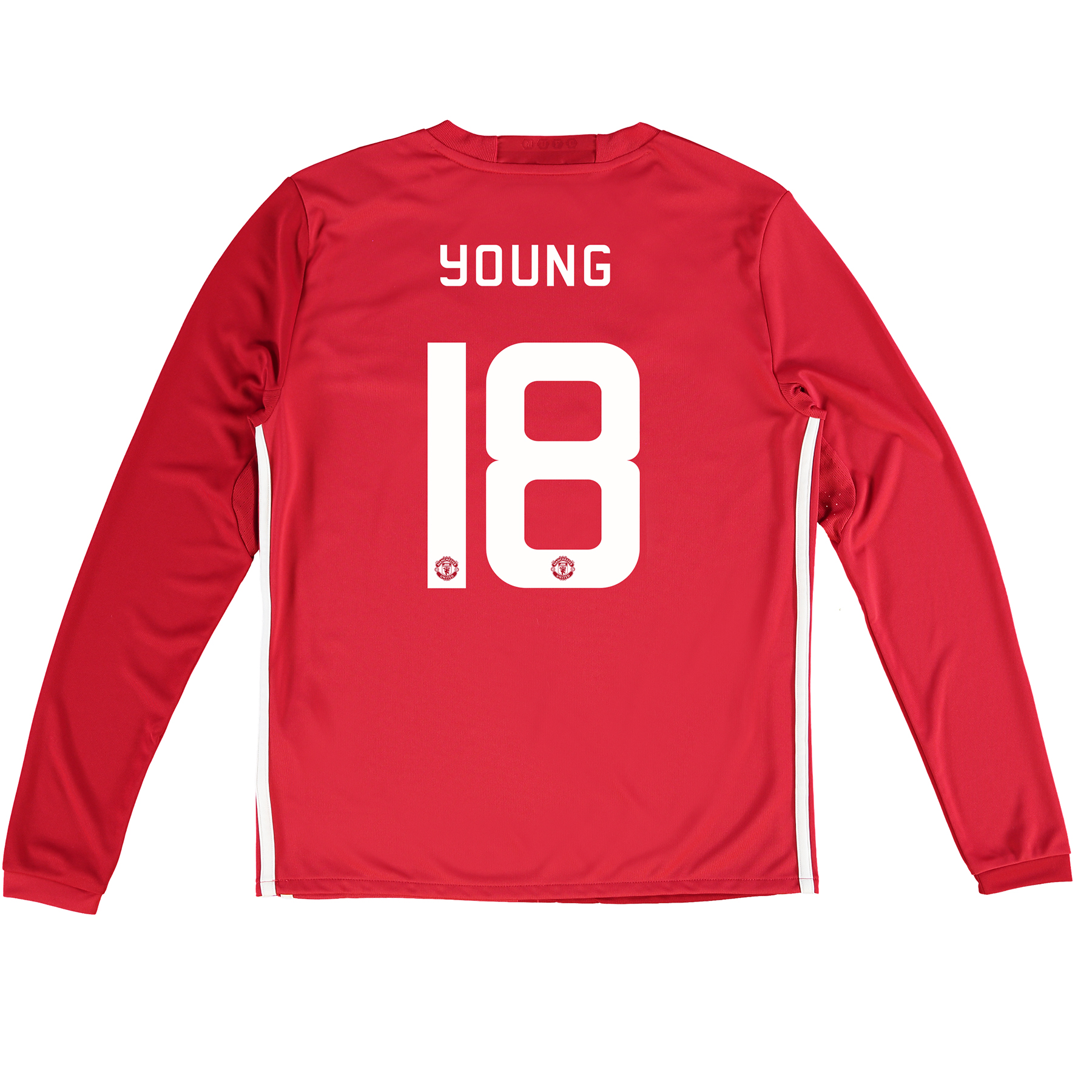 Manchester United Cup Home Shirt 2016-17 - Kids - Long Sleeve with You