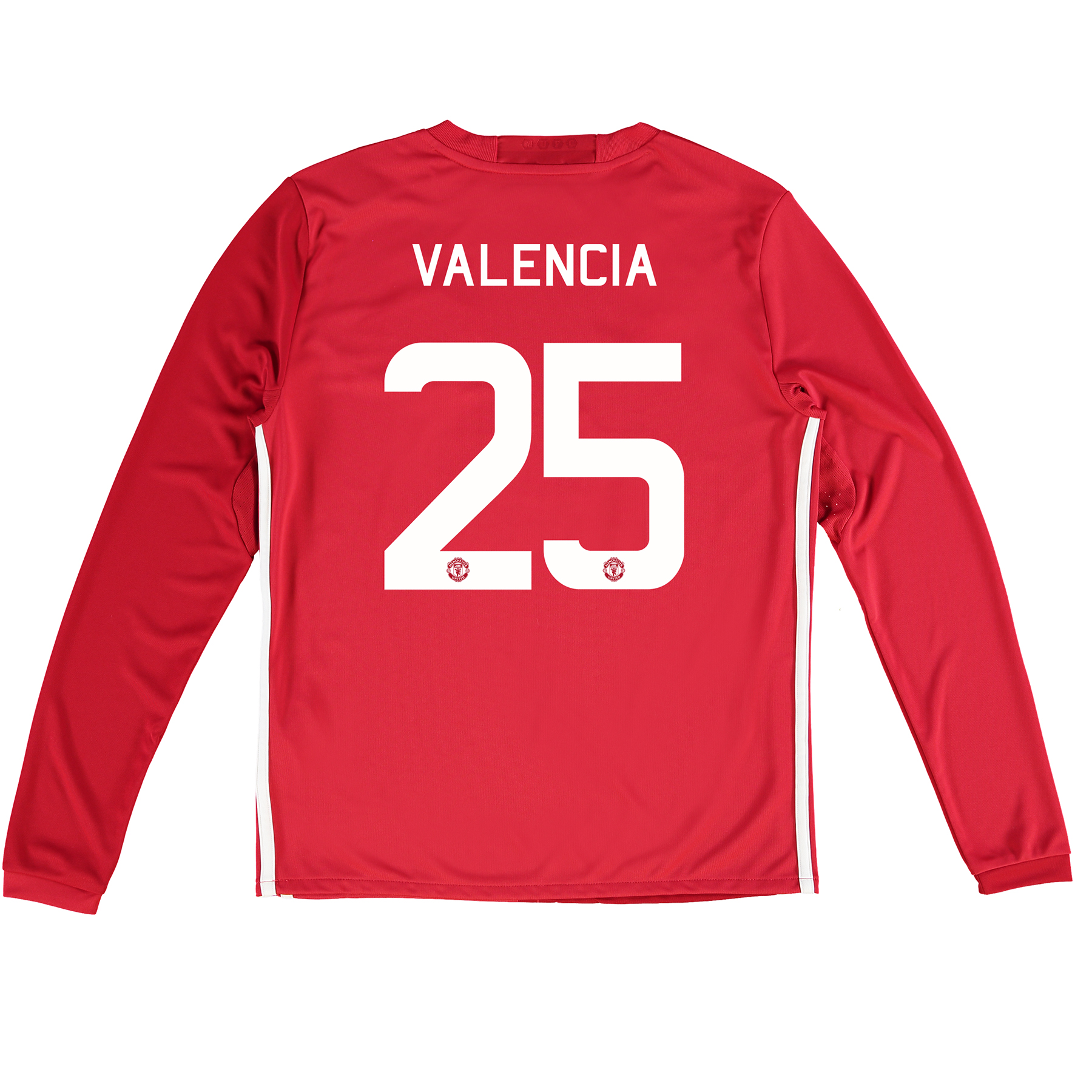 Manchester United Cup Home Shirt 2016-17 - Kids - Long Sleeve with Val