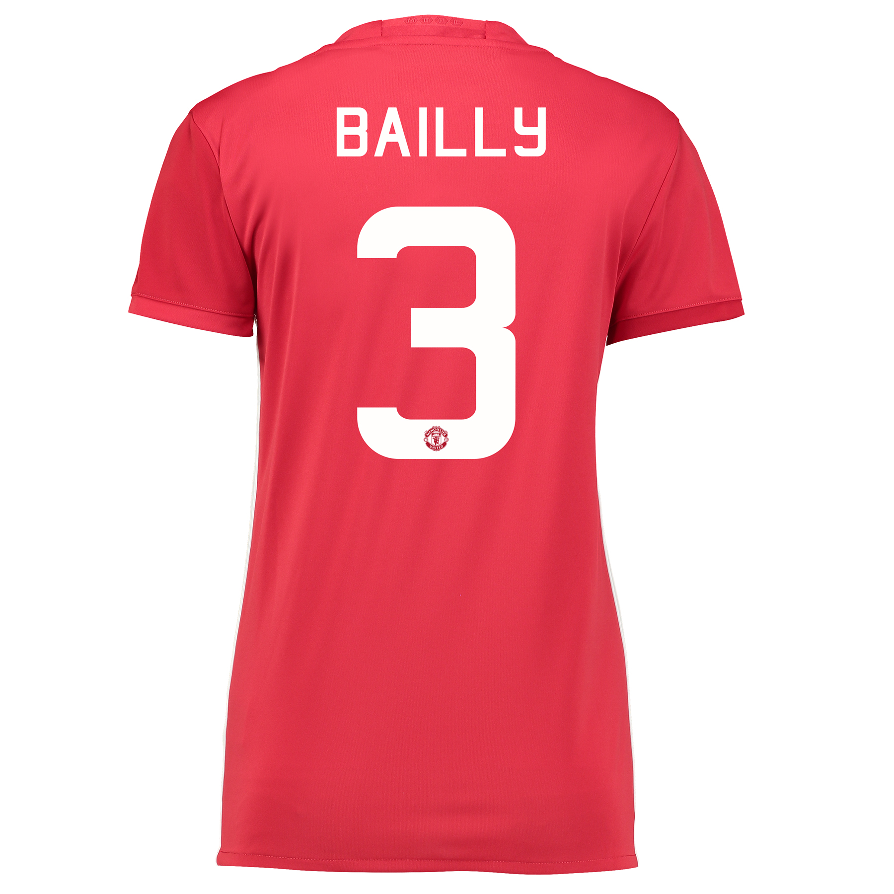 Manchester United Cup Home Shirt 2016-17 - Womens with Bailly 3 printi