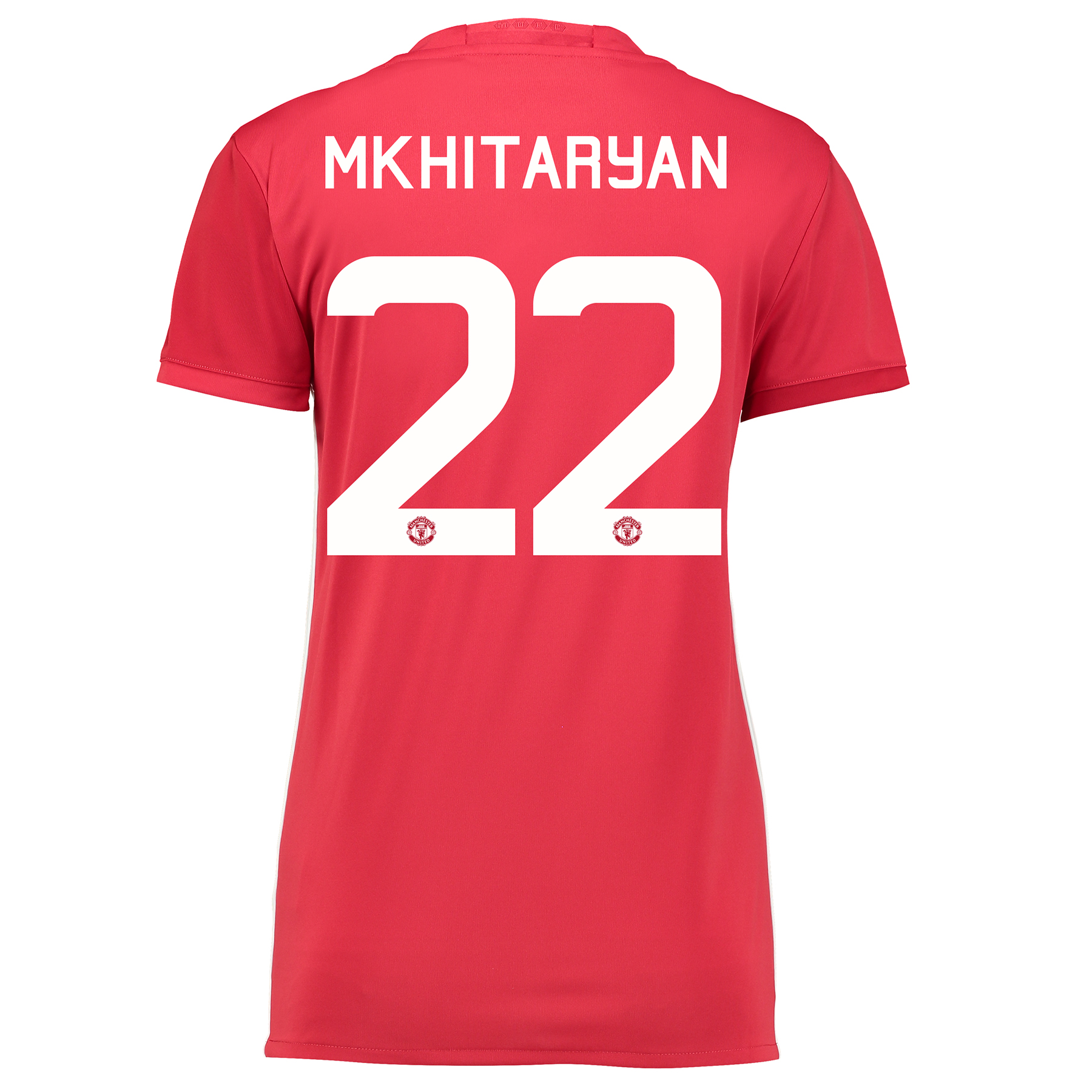 Manchester United Cup Home Shirt 2016-17 - Womens with Mkhitaryan 22 p