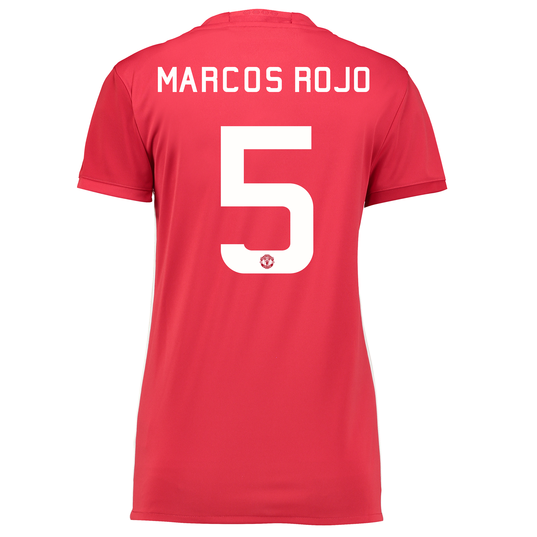 Manchester United Cup Home Shirt 2016-17 - Womens with Marcos Rojo 5 p
