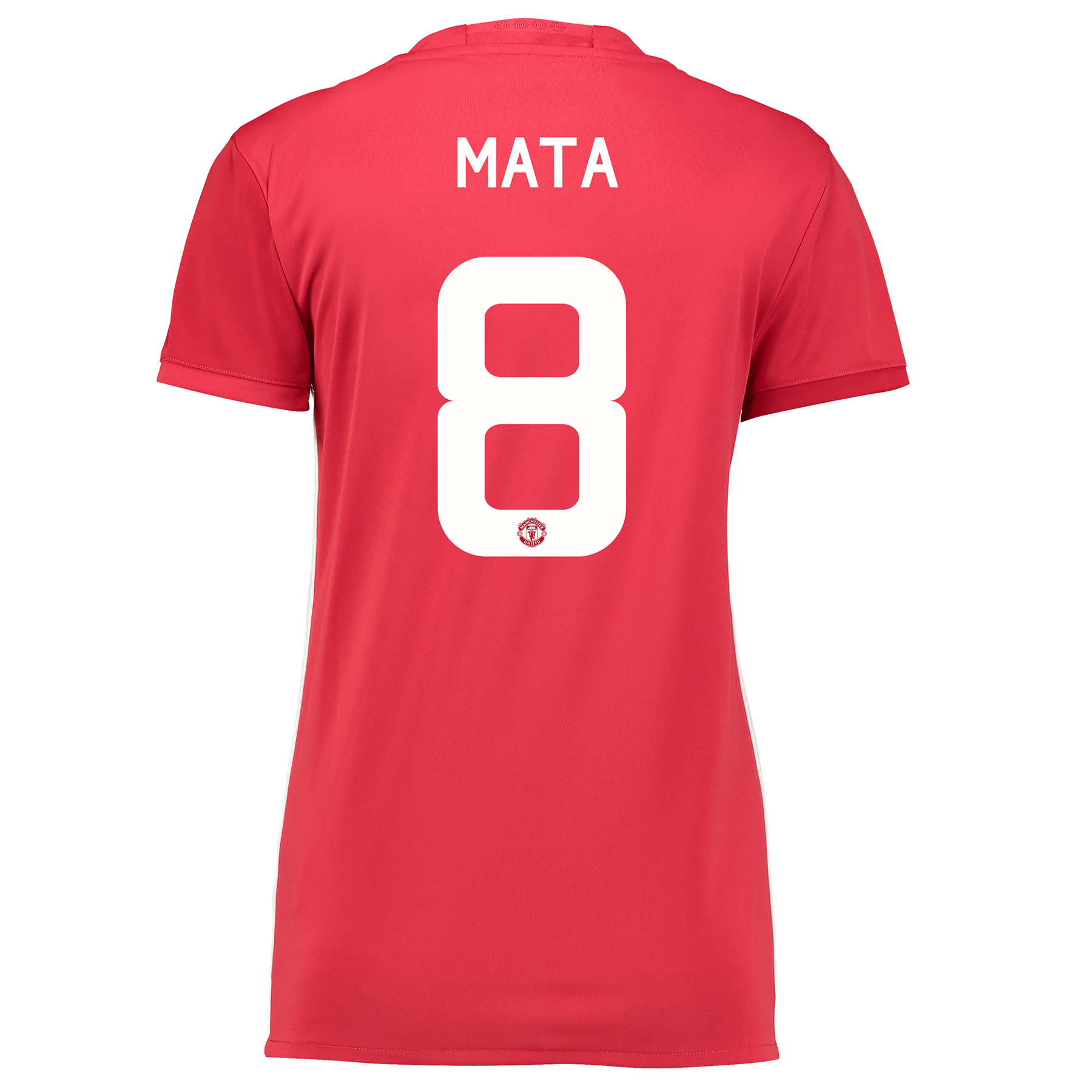 Manchester United Cup Home Shirt 2016-17 - Womens with Mata 8 printing