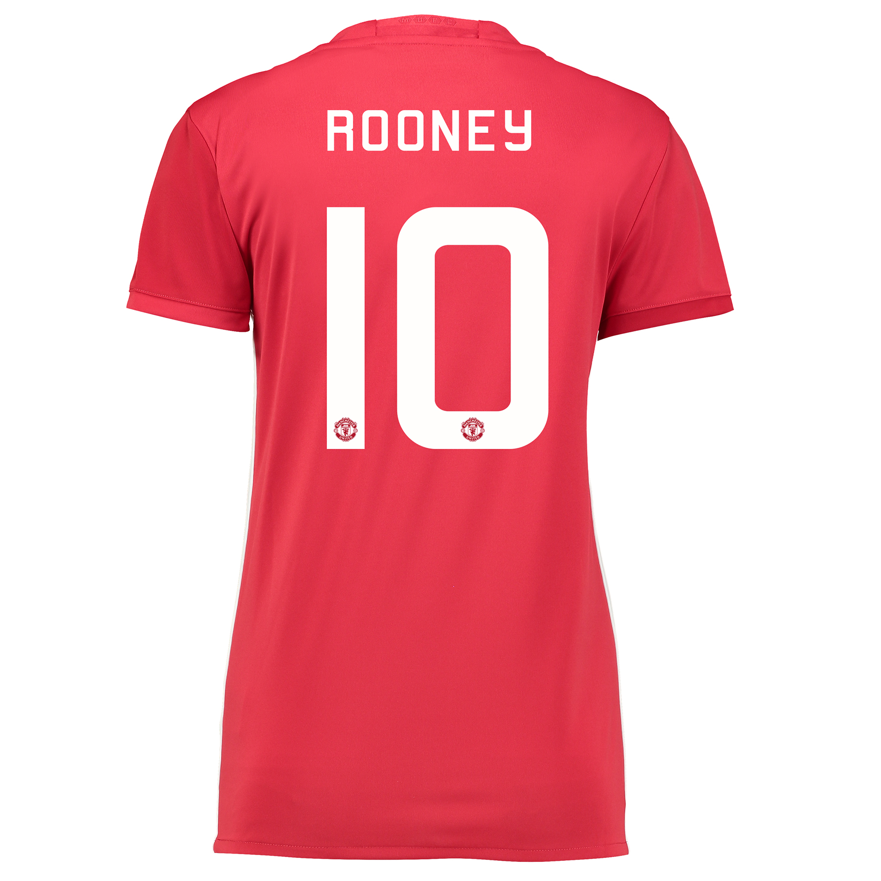 Manchester United Cup Home Shirt 2016-17 - Womens with Rooney 10 print