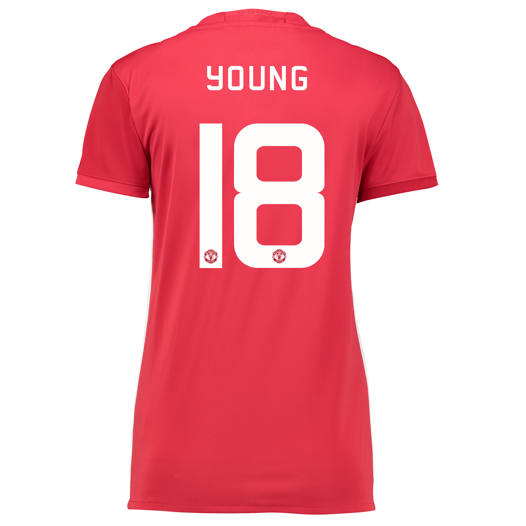 Manchester United Cup Home Shirt 2016-17 - Womens with Young 18 printi