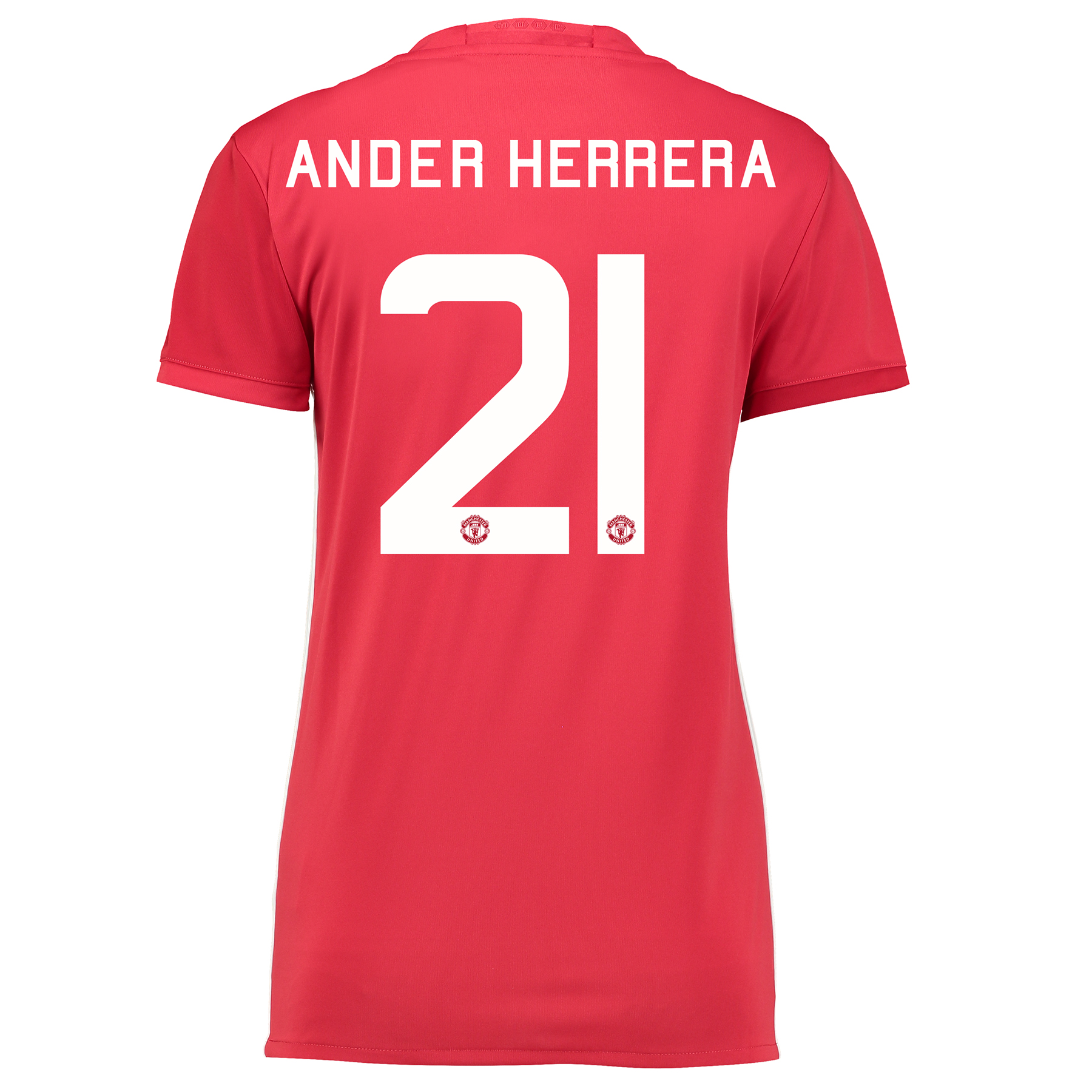 Manchester United Cup Home Shirt 2016-17 - Womens with Herrera 21 prin