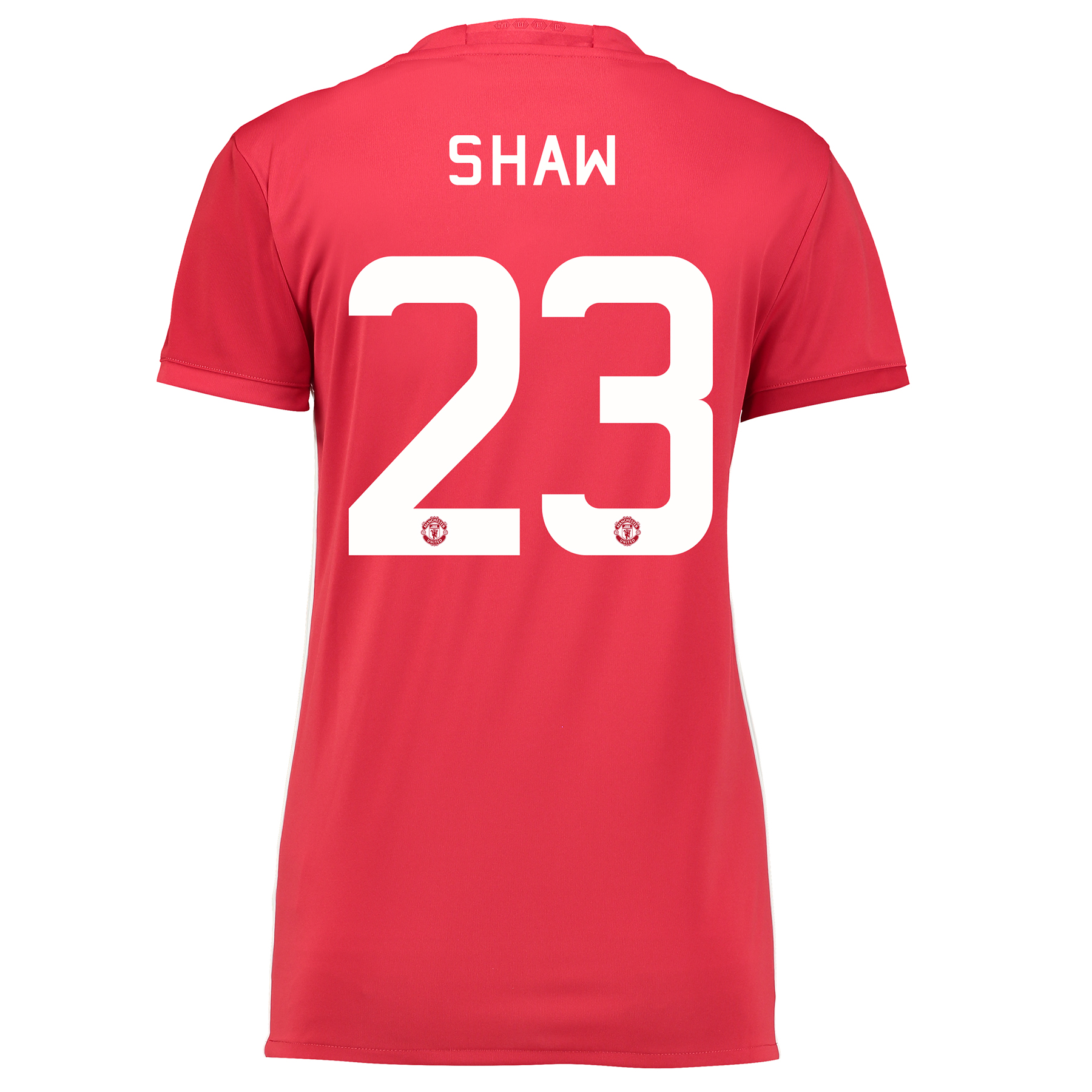 Manchester United Cup Home Shirt 2016-17 - Womens with Shaw 23 printin