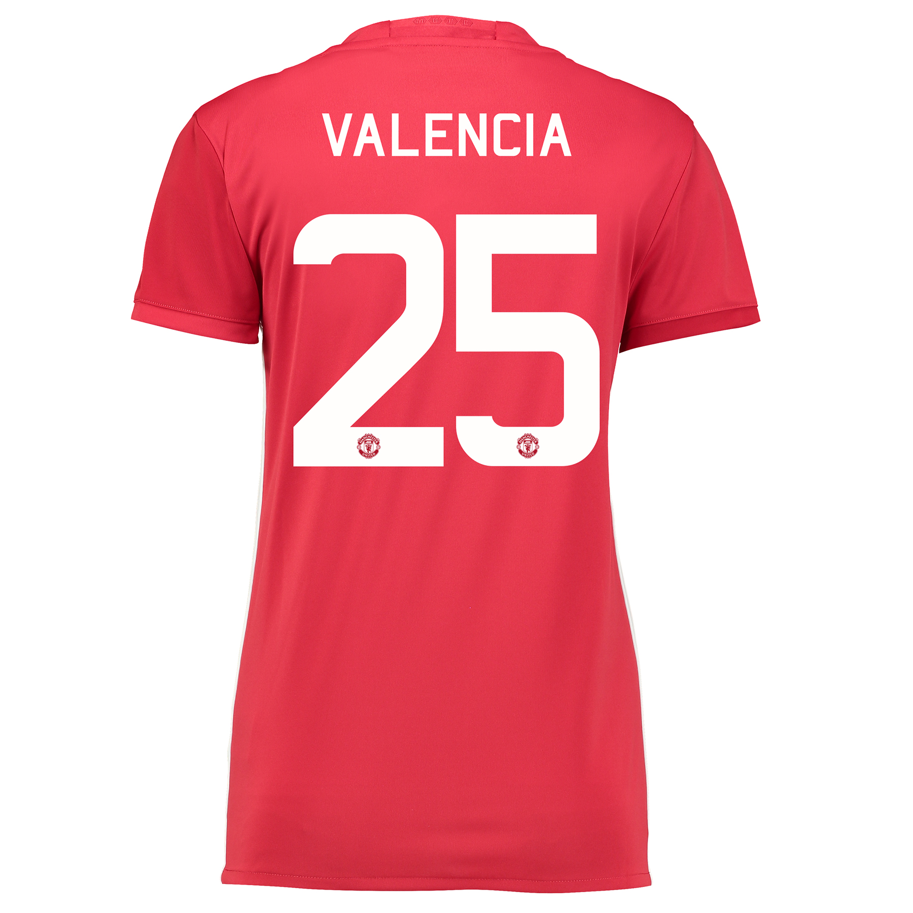 Manchester United Cup Home Shirt 2016-17 - Womens with Valencia 25 pri