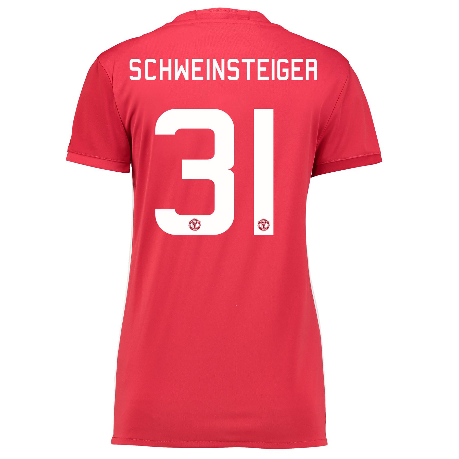 Manchester United Cup Home Shirt 2016-17 - Womens with Schweinsteiger
