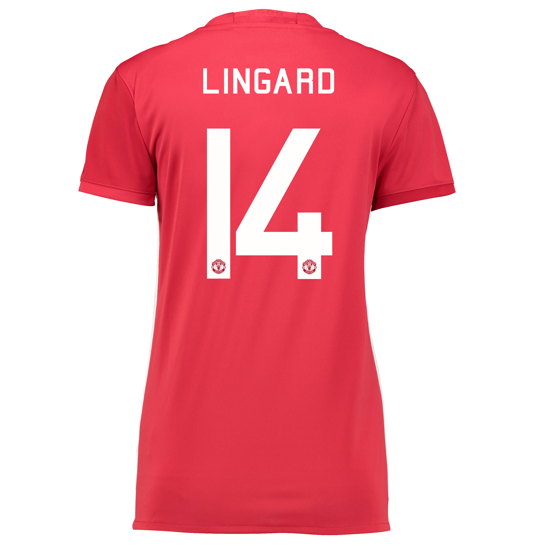 Manchester United Cup Home Shirt 2016-17 - Womens with Lingard 14 prin