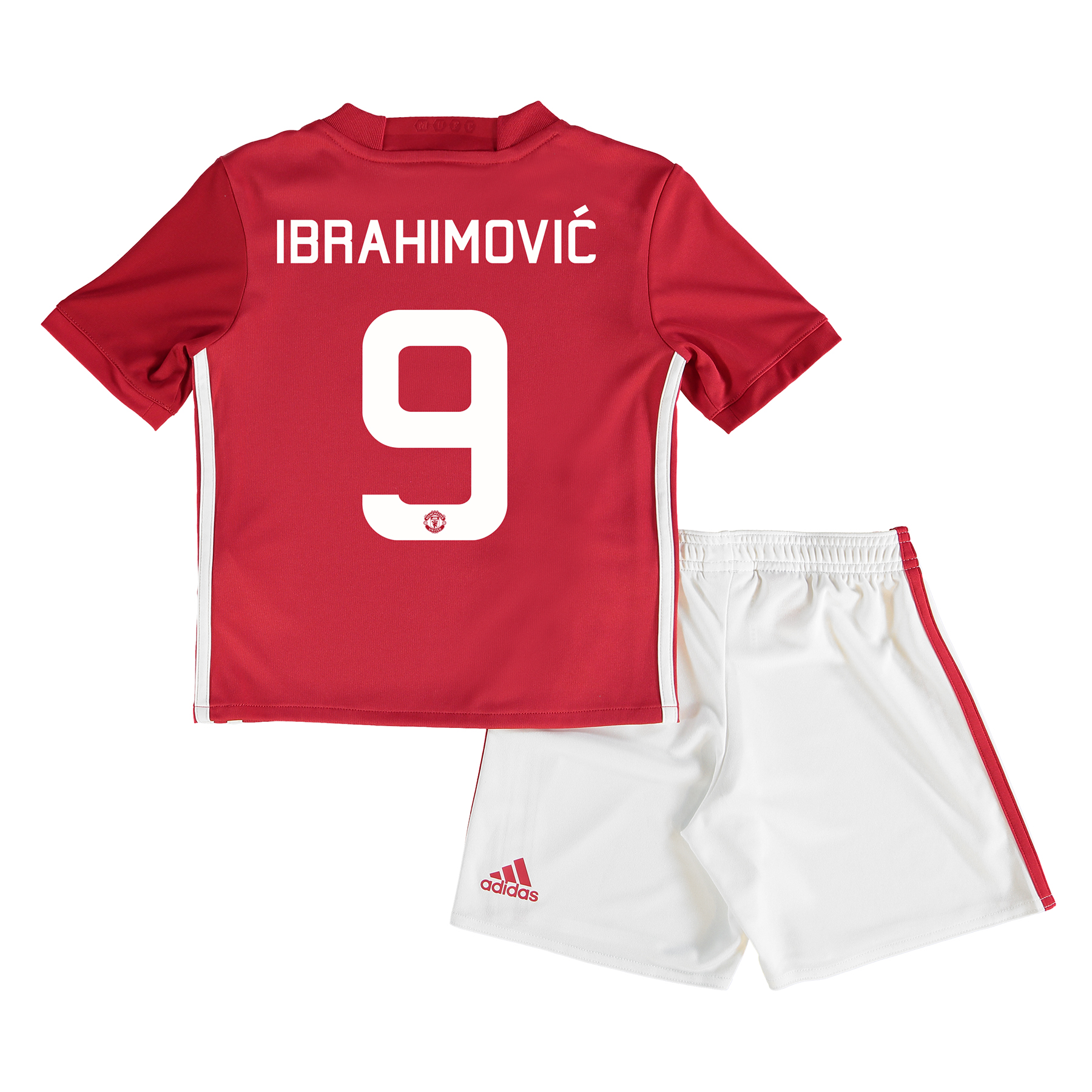 Manchester United Cup Home Mini Kit 2016-17 with Ibrahimovic 9 printin