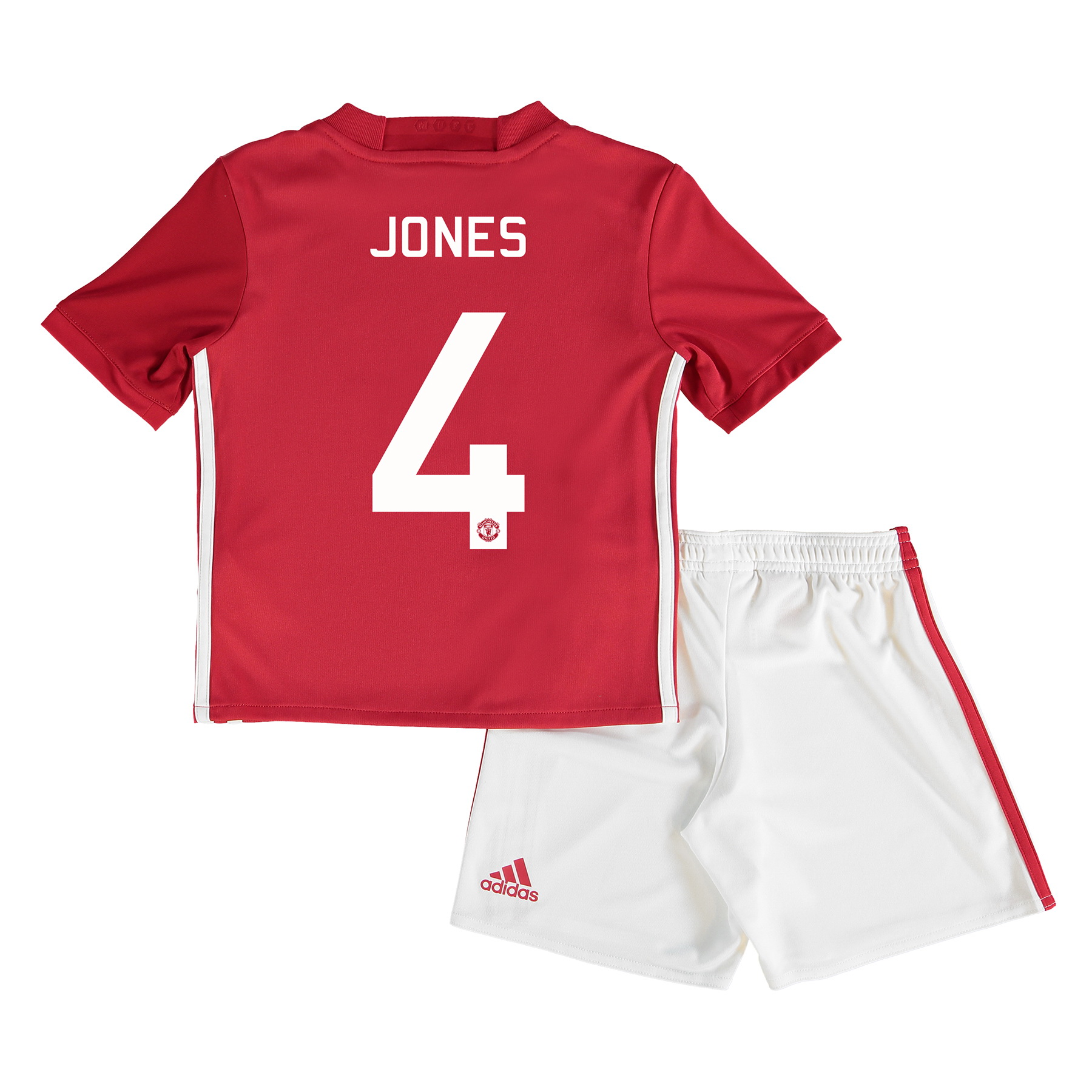 Manchester United Cup Home Mini Kit 2016-17 with Jones 4 printing
