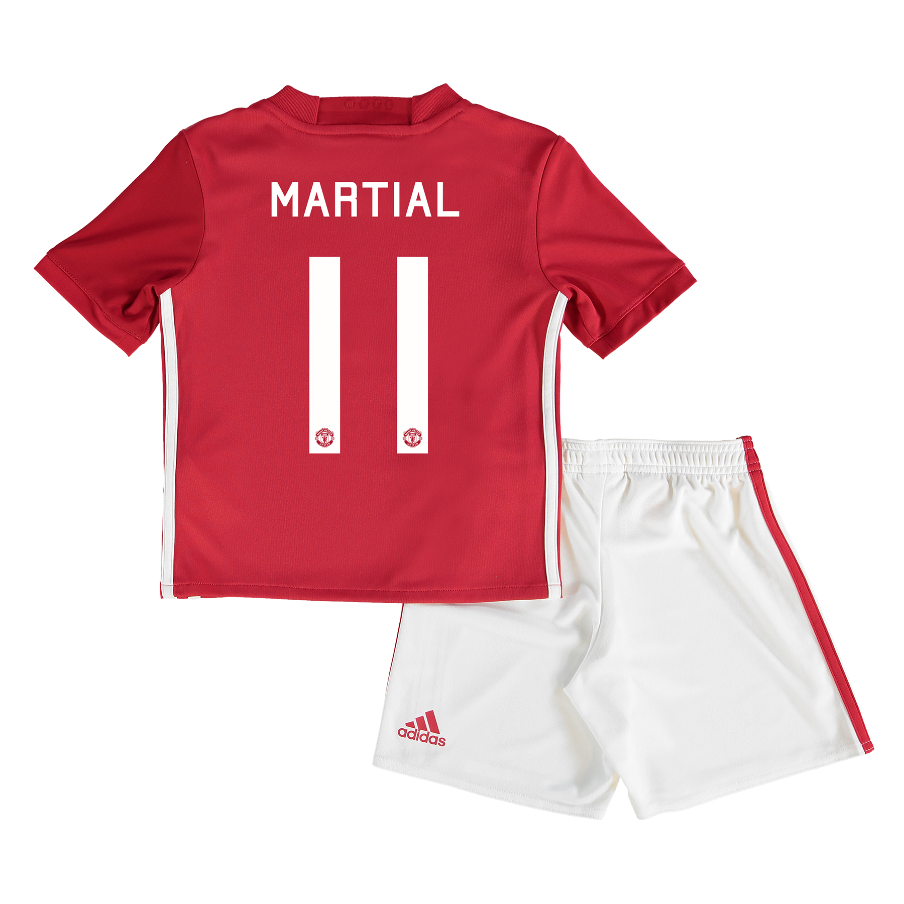 Manchester United Cup Home Mini Kit 2016-17 with Martial 11 printing