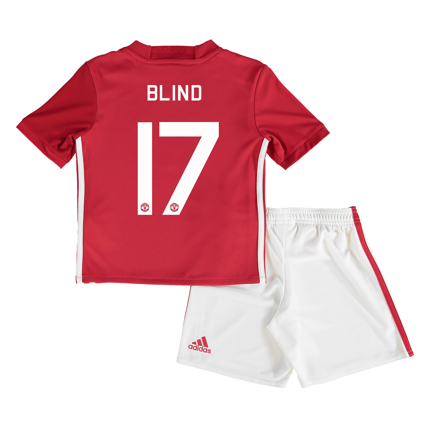 Manchester United Cup Home Mini Kit 2016-17 with Blind 17 printing