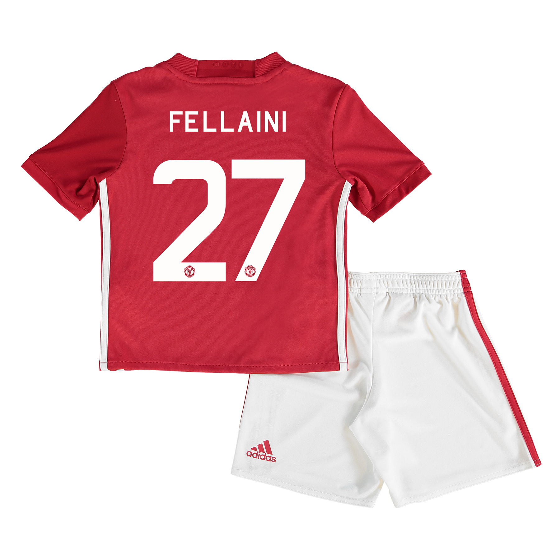 Manchester United Cup Home Mini Kit 2016-17 with Fellaini 27 printing