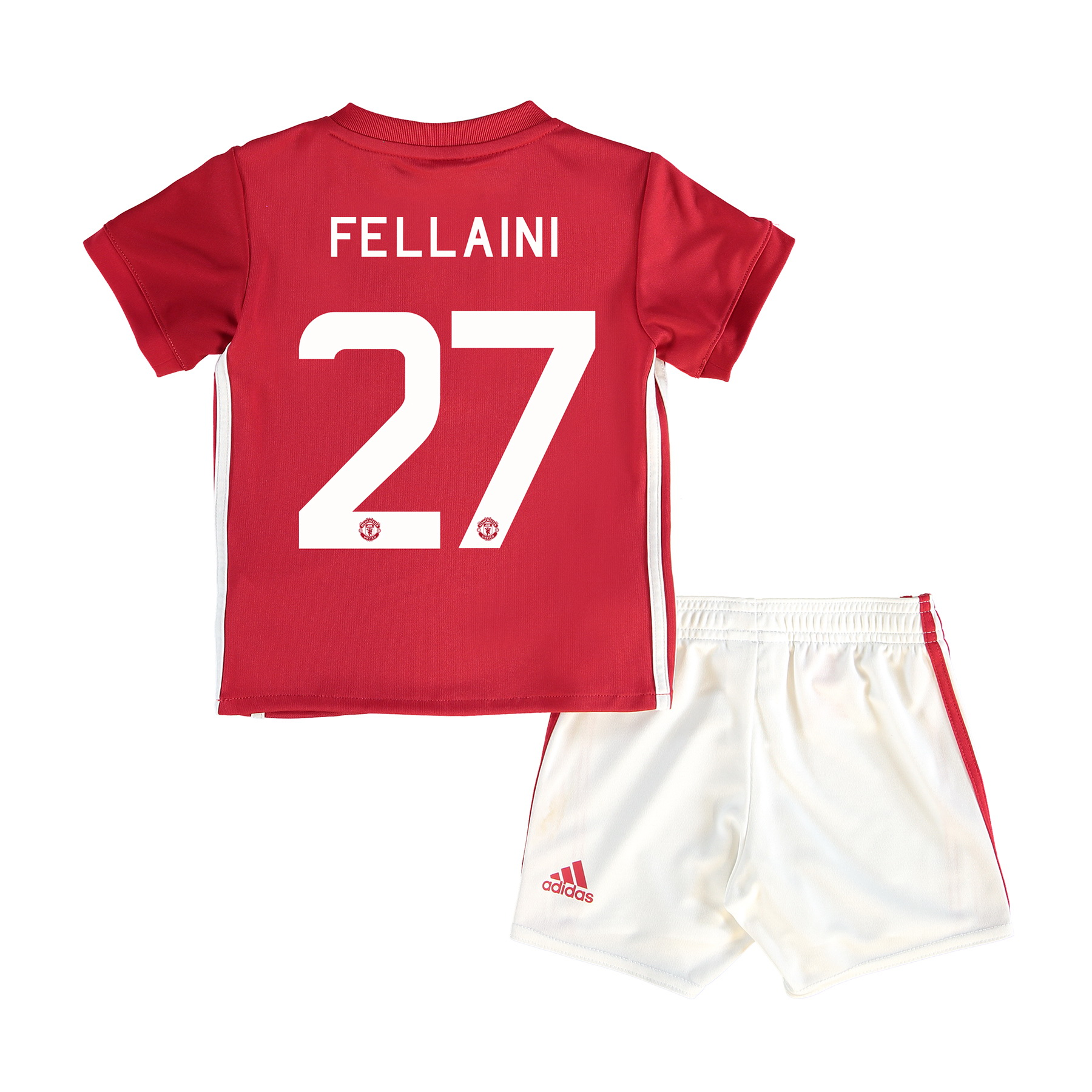 Manchester United Cup Home Baby Kit 2016-17 with Fellaini 27 printing