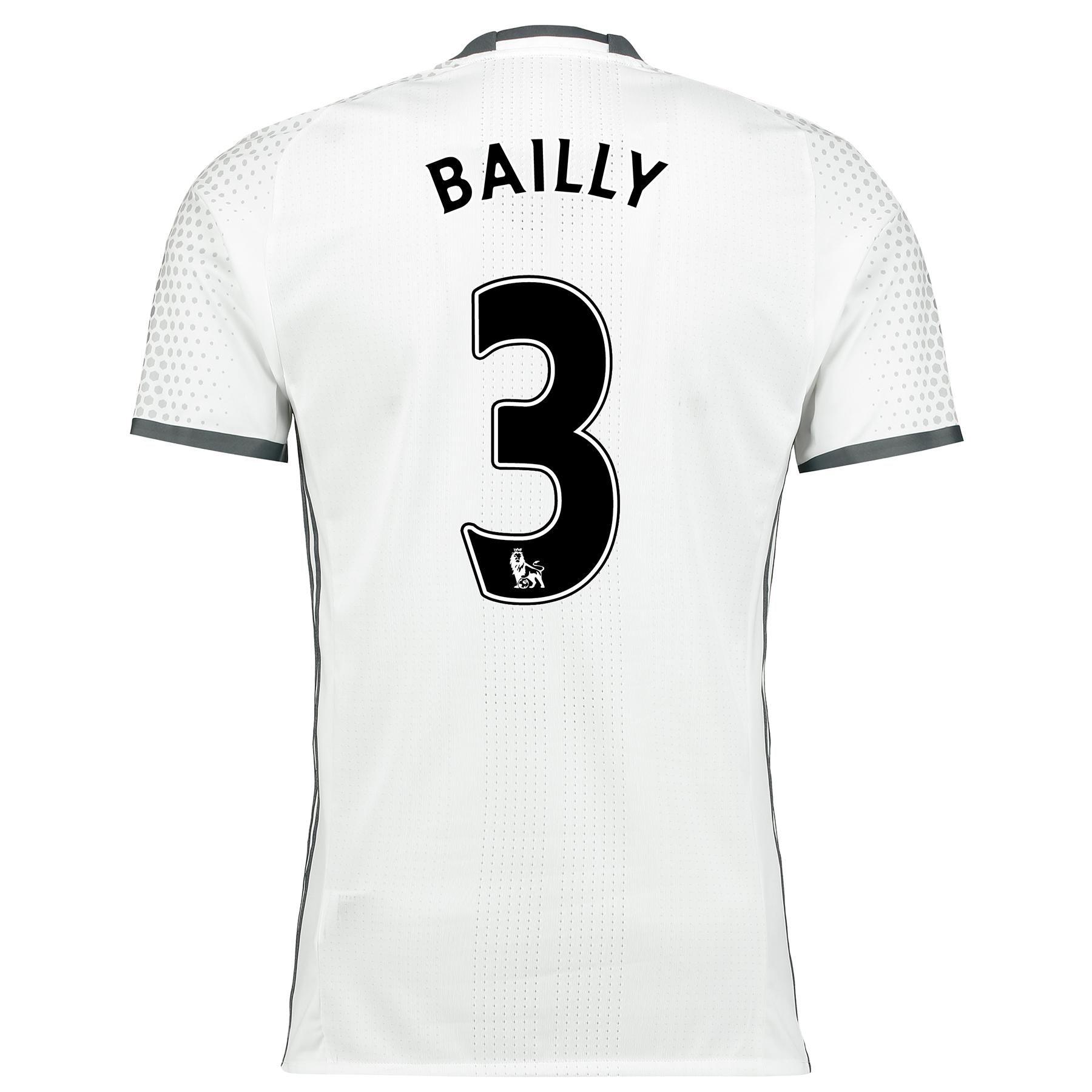 Manchester United Third Adi Zero Shirt 2016-17 with Bailly 3 printing